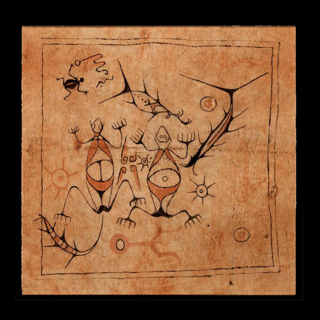 Painted Bark Cloth    Maro    Lake Sentani © The Dallas Museum of Art   Texas, USA