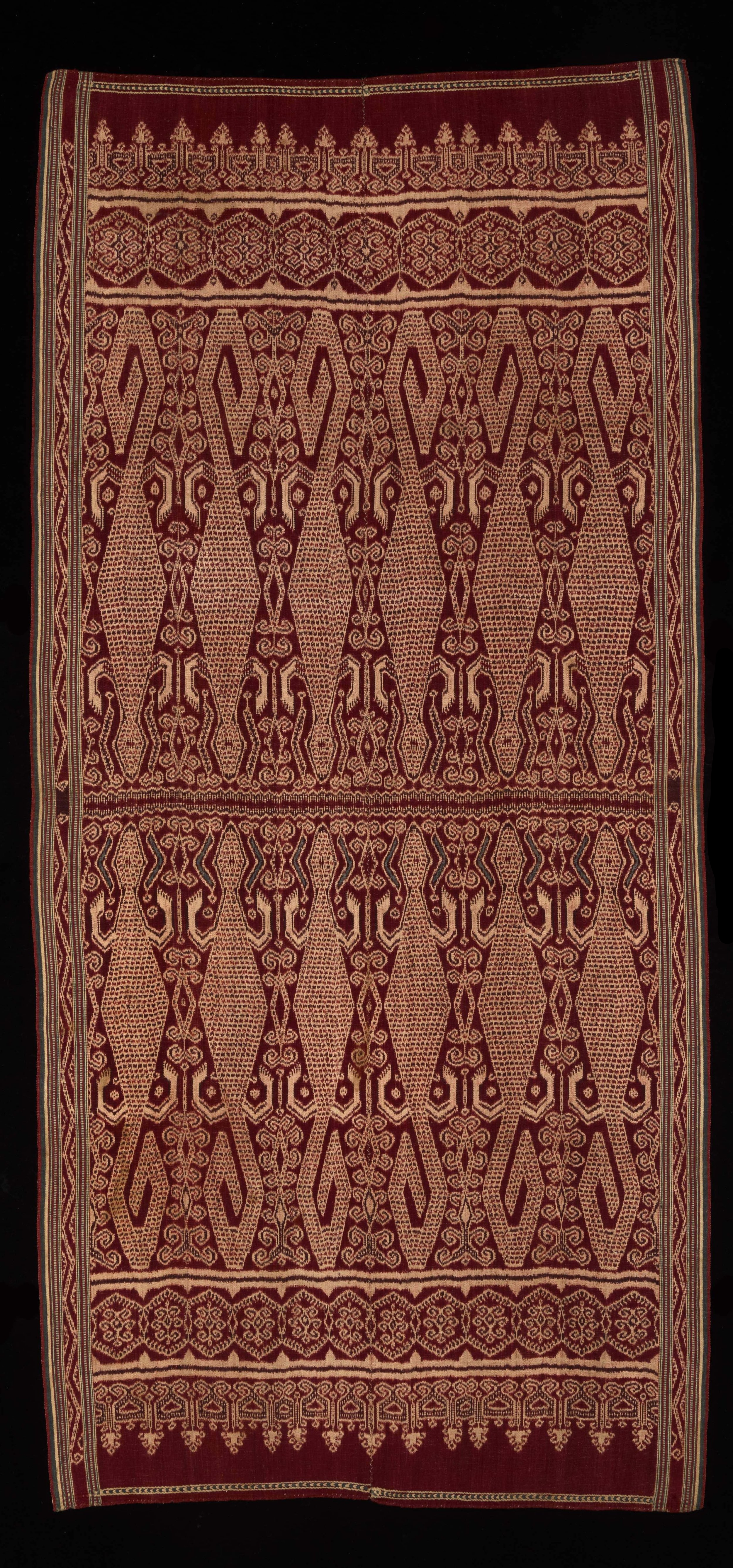 Iban  Ceremonial Weaving |  Pua Kumbu  © The Dallas Museum of Art | Texas, USA