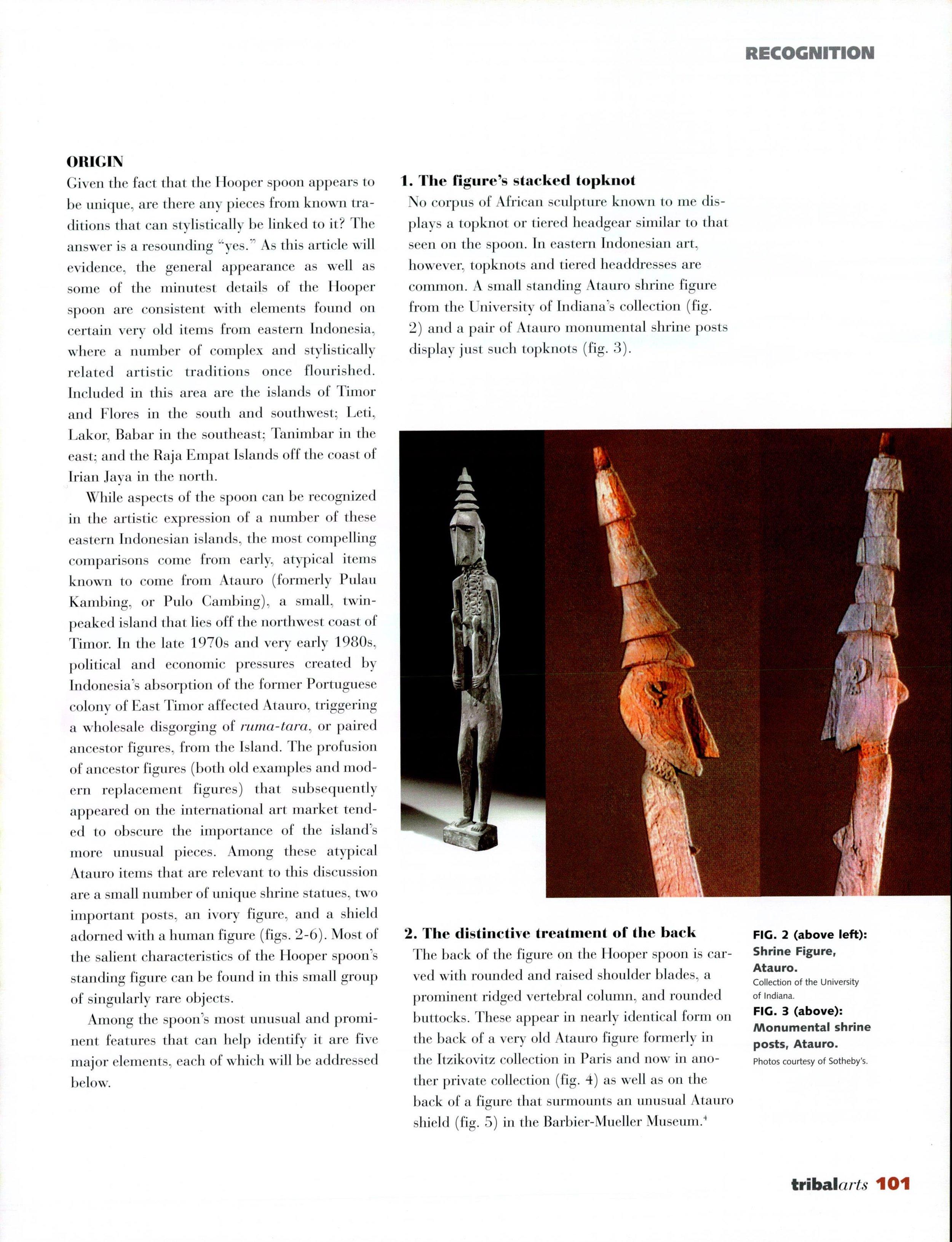 Tribal Art Magazine Steven G. Alpert