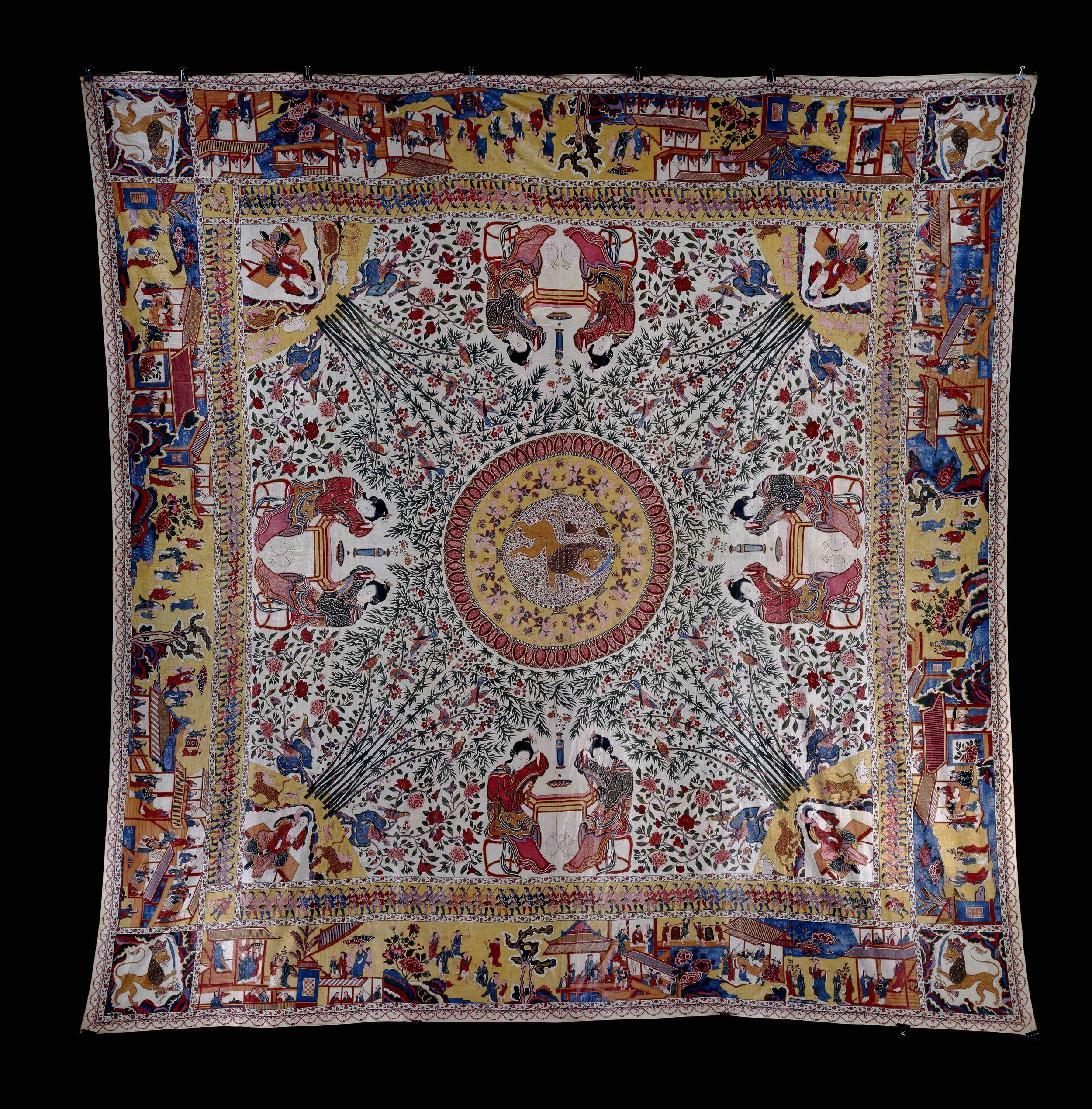 Trade Textile © The Trustees of the British Museum
