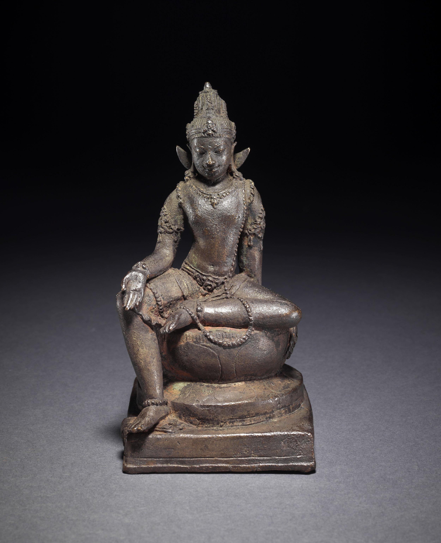 The bodhisattva Manjusri. © The Trustees of the British Museum