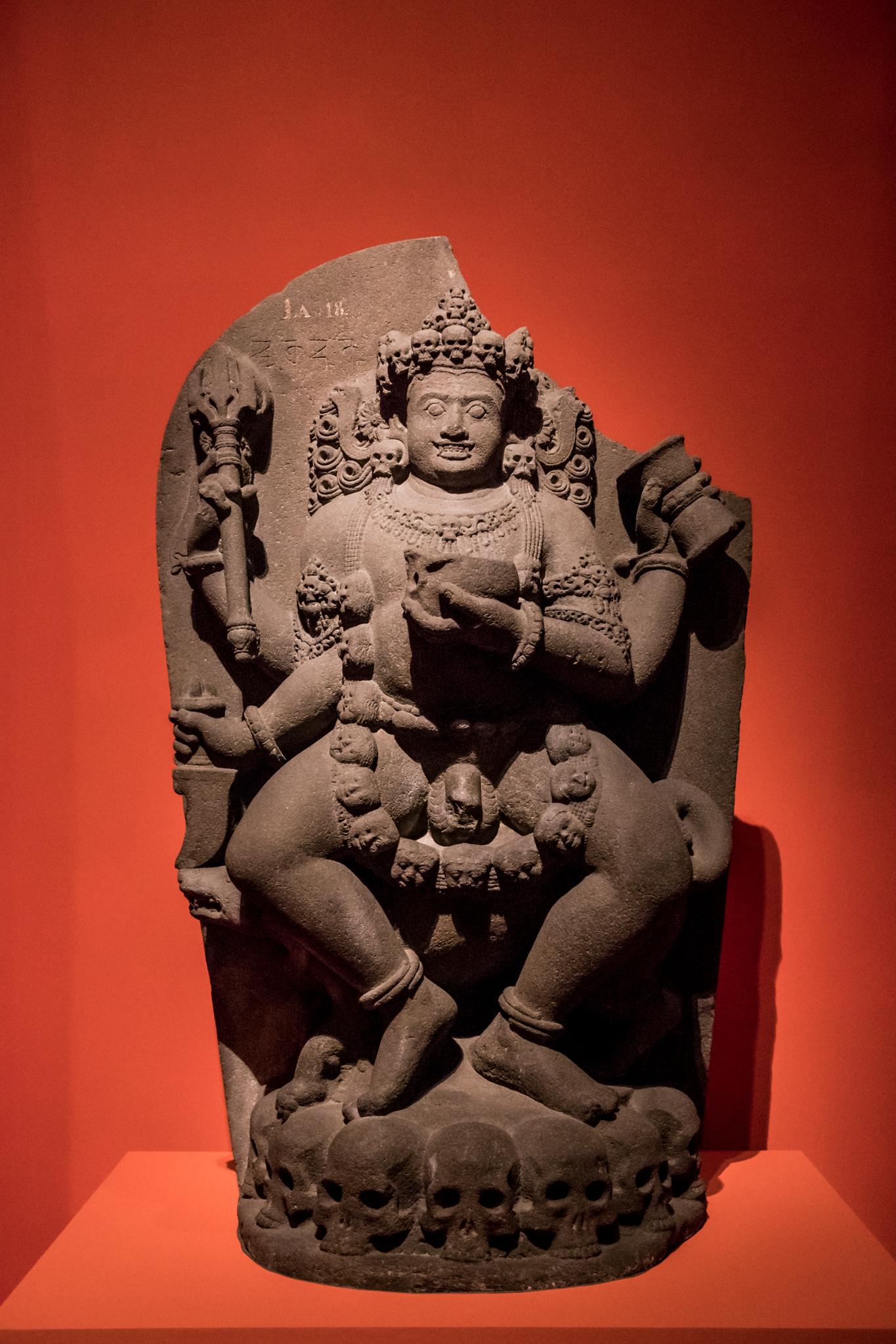 Bhairava. © Asian Civilisations Museum