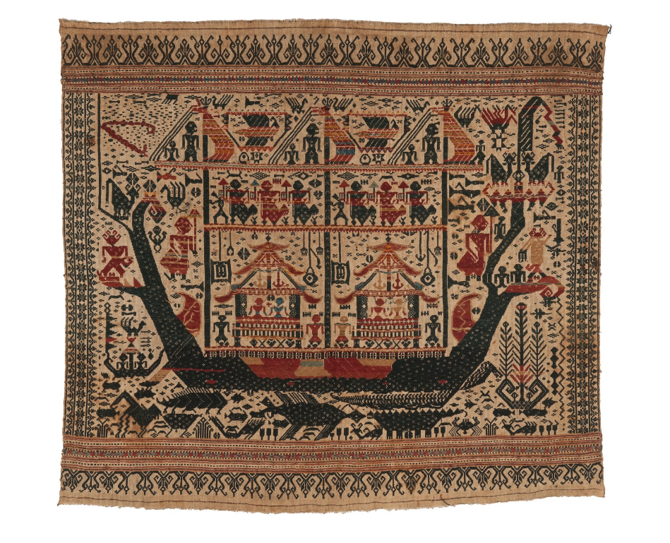 Ceremonial Cloth | Tampan © Nationaal Museum van Wereldculturen | The Netherlands