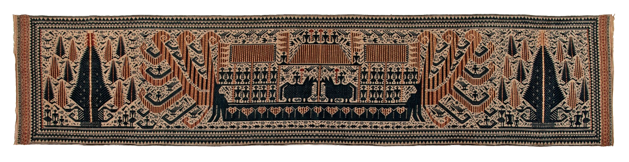 Ceremonial Banner Cloth | Palepai © Nationaal Museum van Wereldculturen | The Netherlands