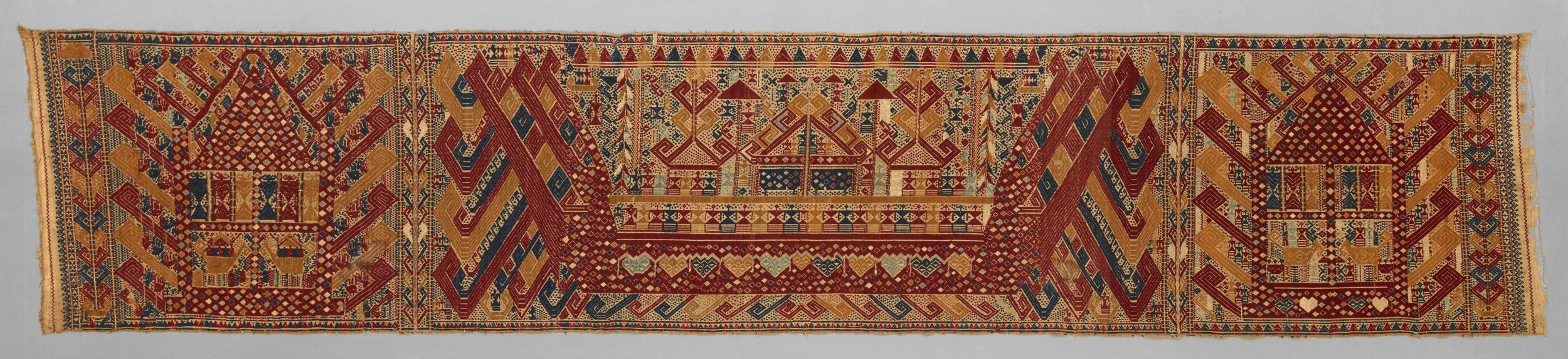 Ceremonial Banner Cloth | Palepai © Dallas Museum of Art | Texas, USA