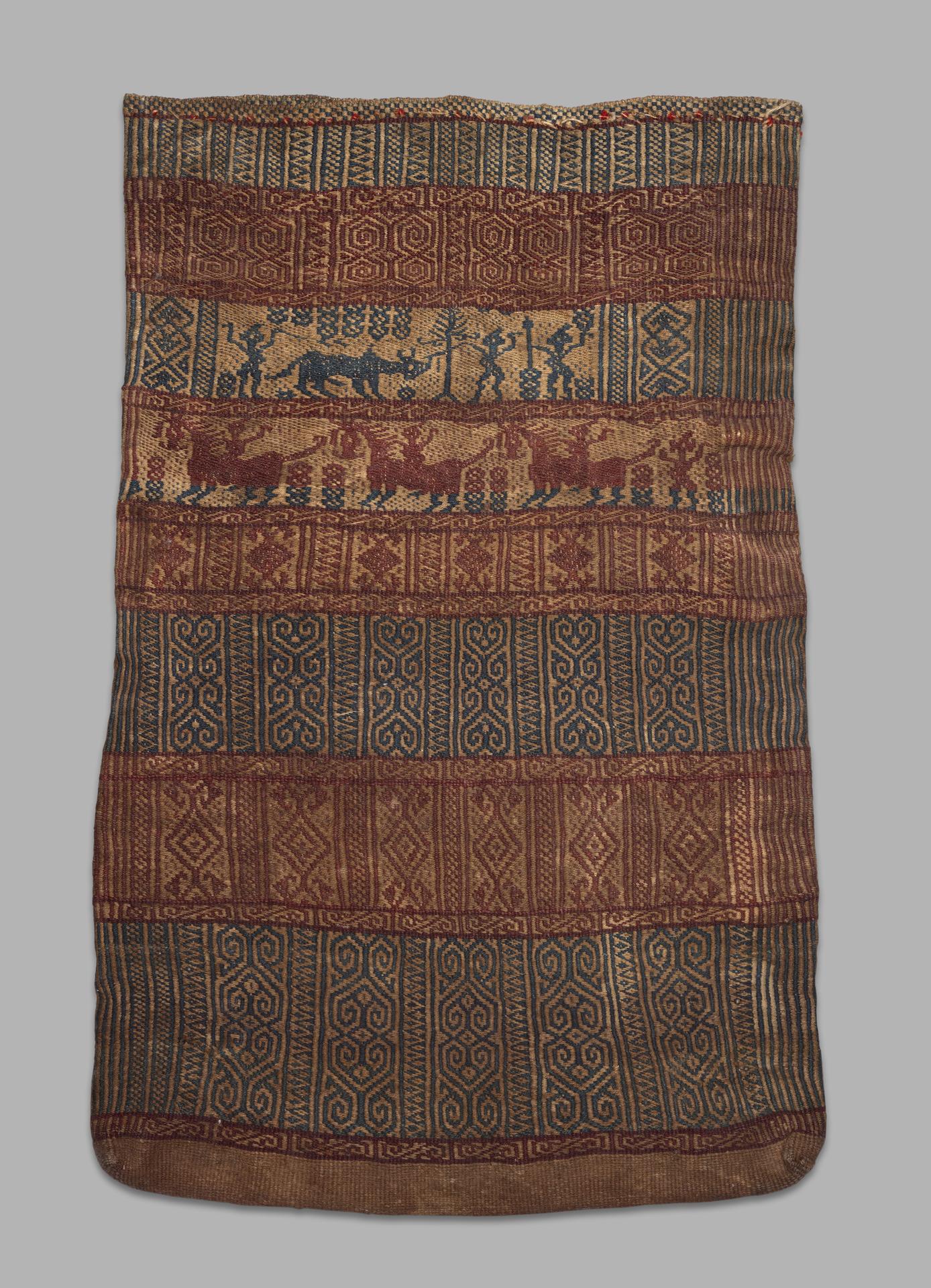 Weft Twined Bag   Batak   North Sumatra © Yale University Art Gallery