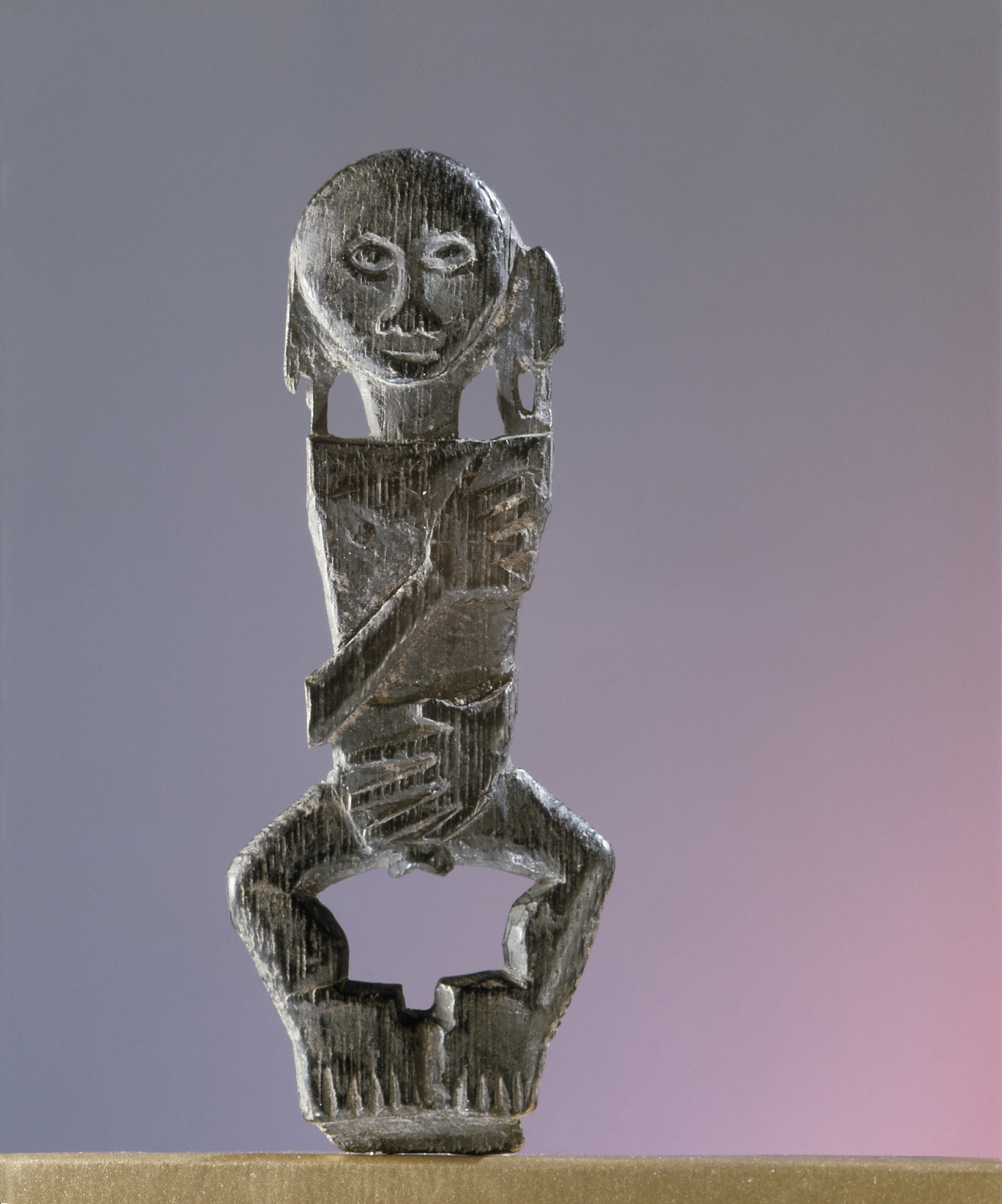 Dayak Amulet | Borneo © Werner Forman Archive | Formerly Philip Goldman Collection, London