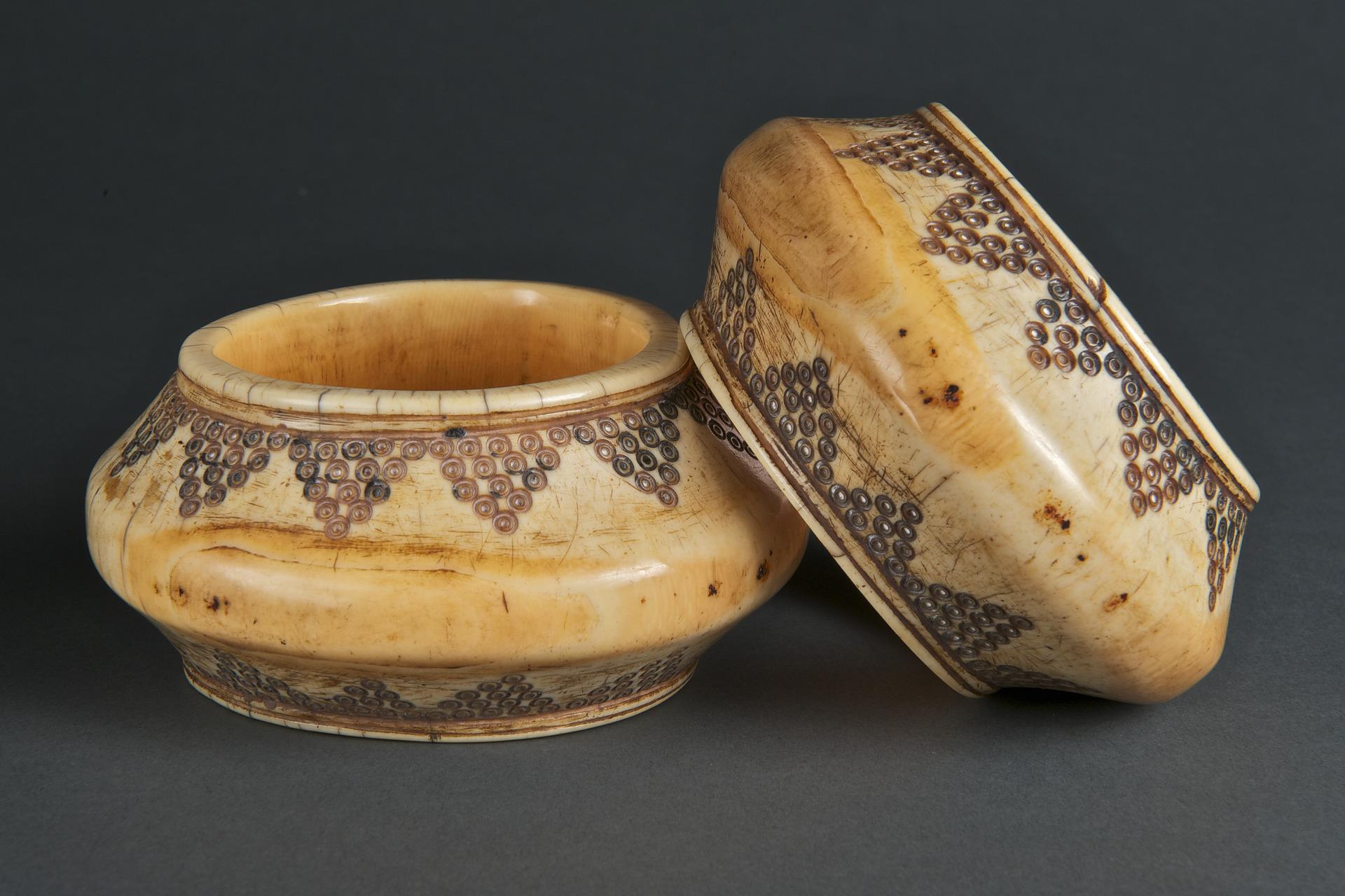 Pair of Ivory Bracelets   Sumba © Yale University Art Gallery   Connecticut, USA