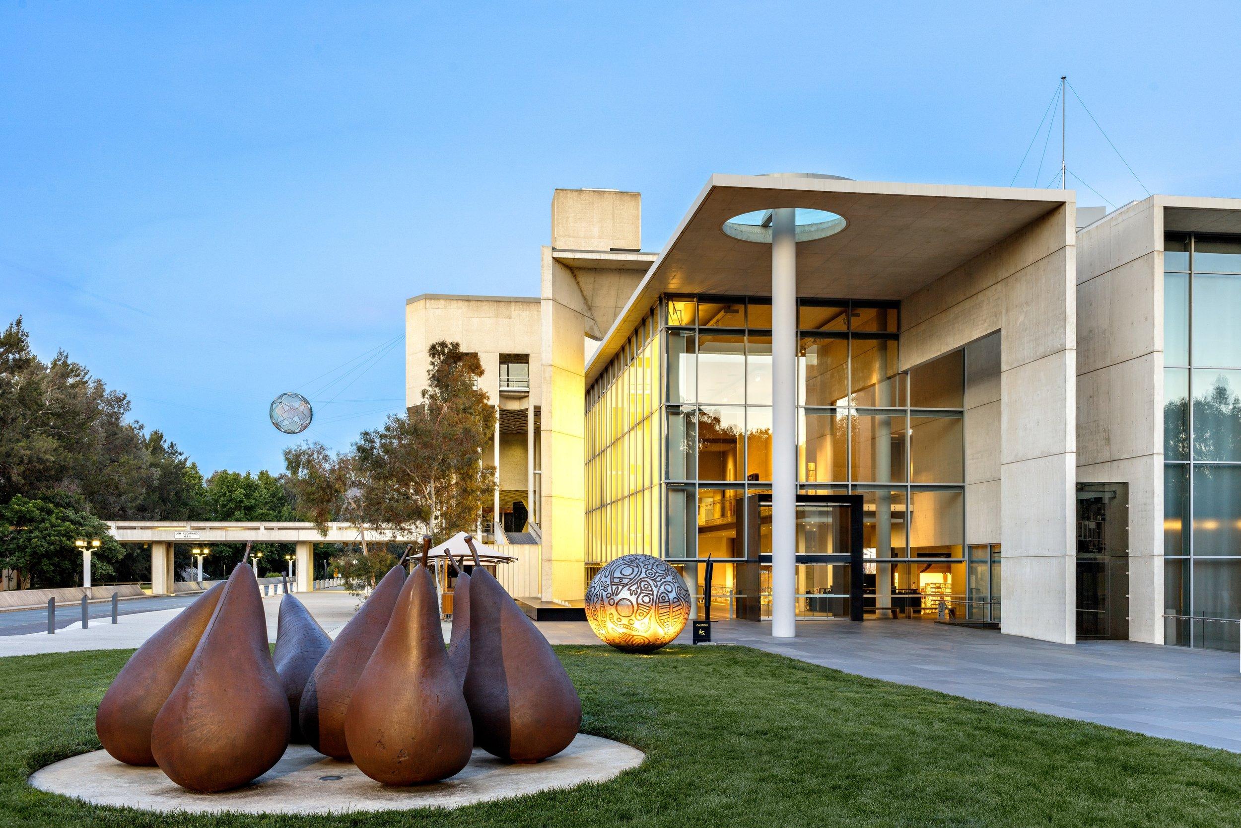 National Gallery of Australia Canberra Art of the Ancestors Steven G. Alpert