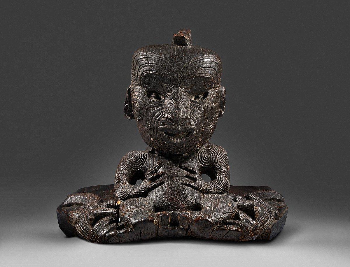 Warrior chief Te Rauparaha | Early 19th century NGA 78.95 © National Gallery of Australia