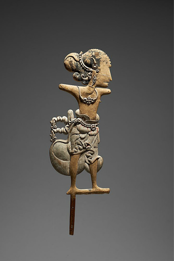 Javanese Figure |  Wayang Klitik  | 16th Century © KHM-Museumsverband