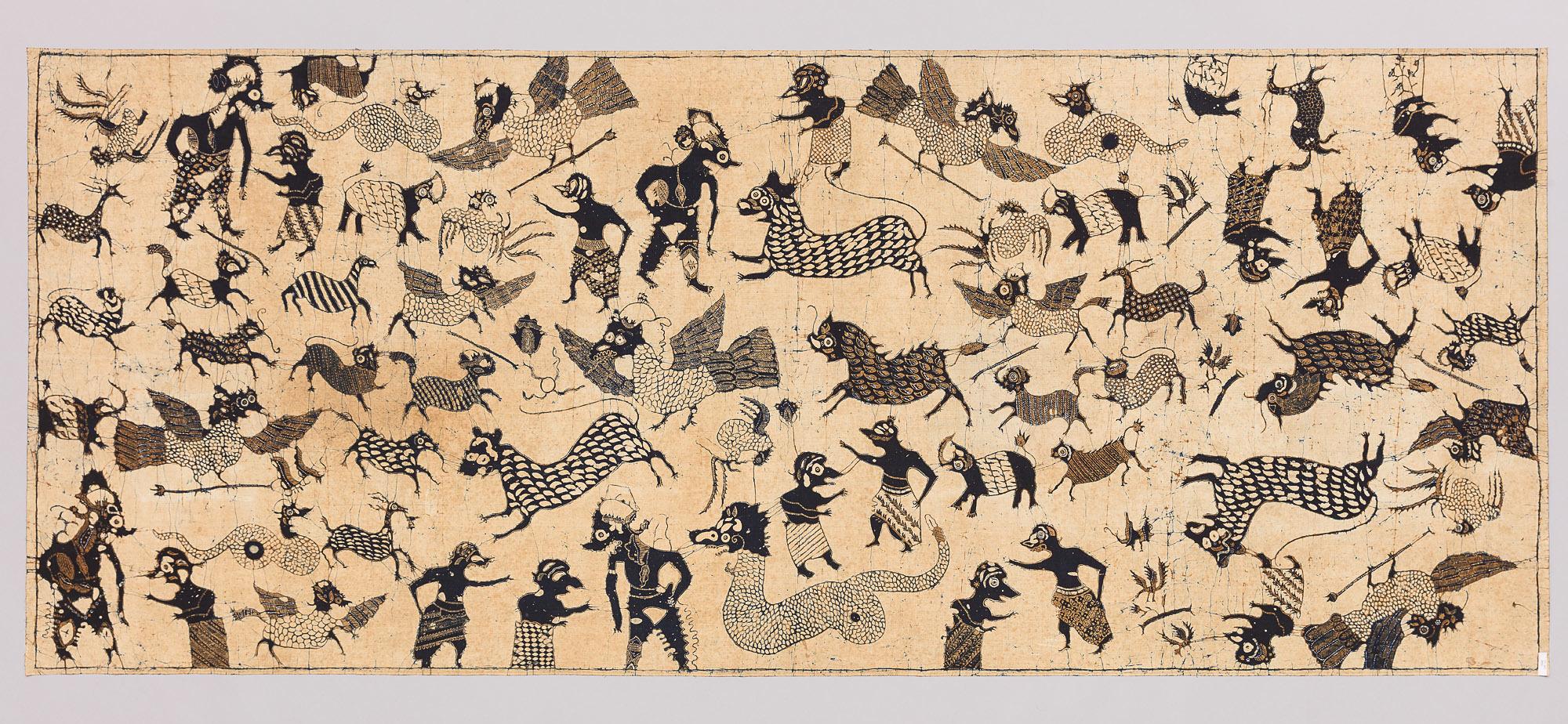 Batik Cloth |  Kain Panjang  | Cirebon, Java | Mid 19th Century © KHM-Museumsverband