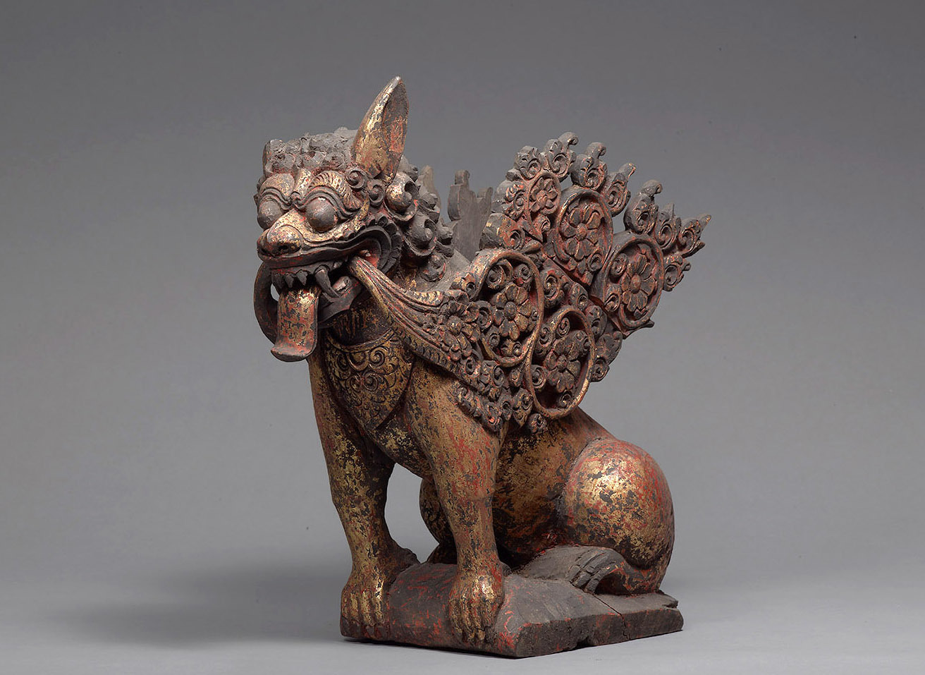 Balinese Sculpture |  Singa Ambara Raja  | 19th Century © KHM-Museumsverband