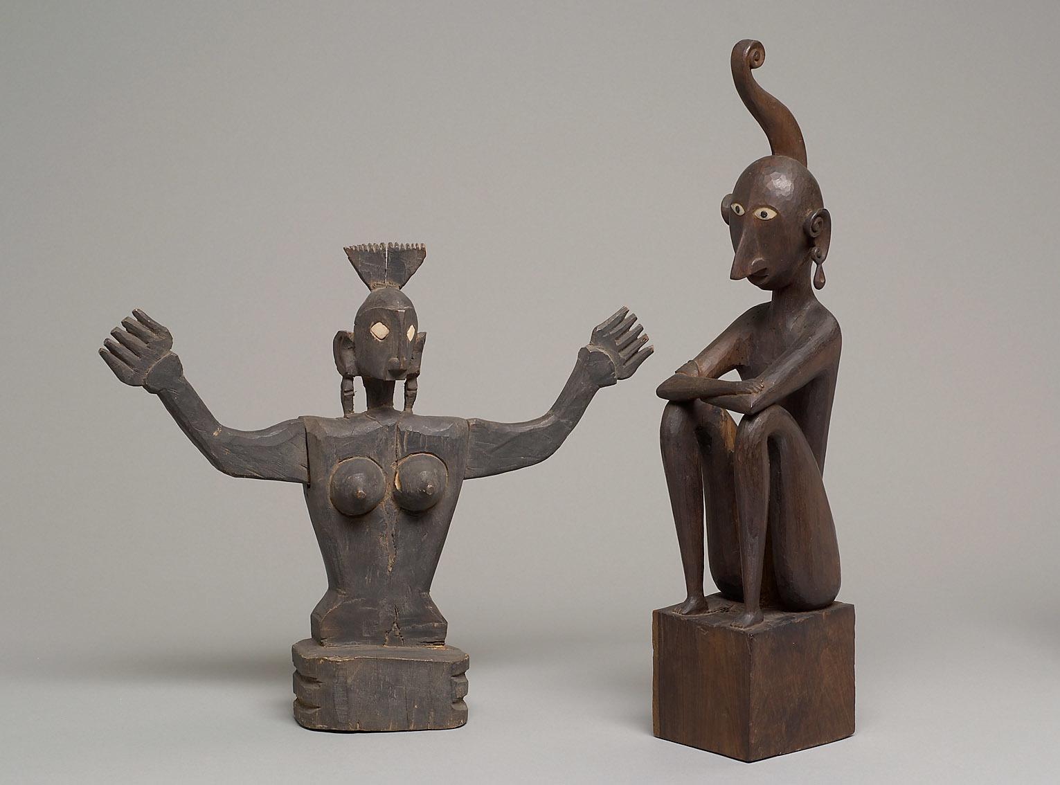 Moluccan Ancestor Figures |  Lairliante & Luli  | 1892 © KHM-Museumsverband