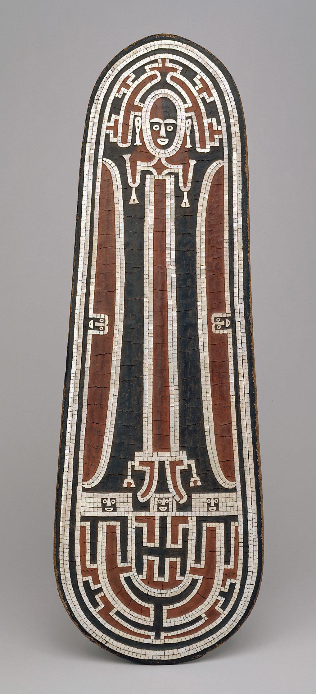 Solomon Islands Shield | Around 1858 © KHM-Museumsverband