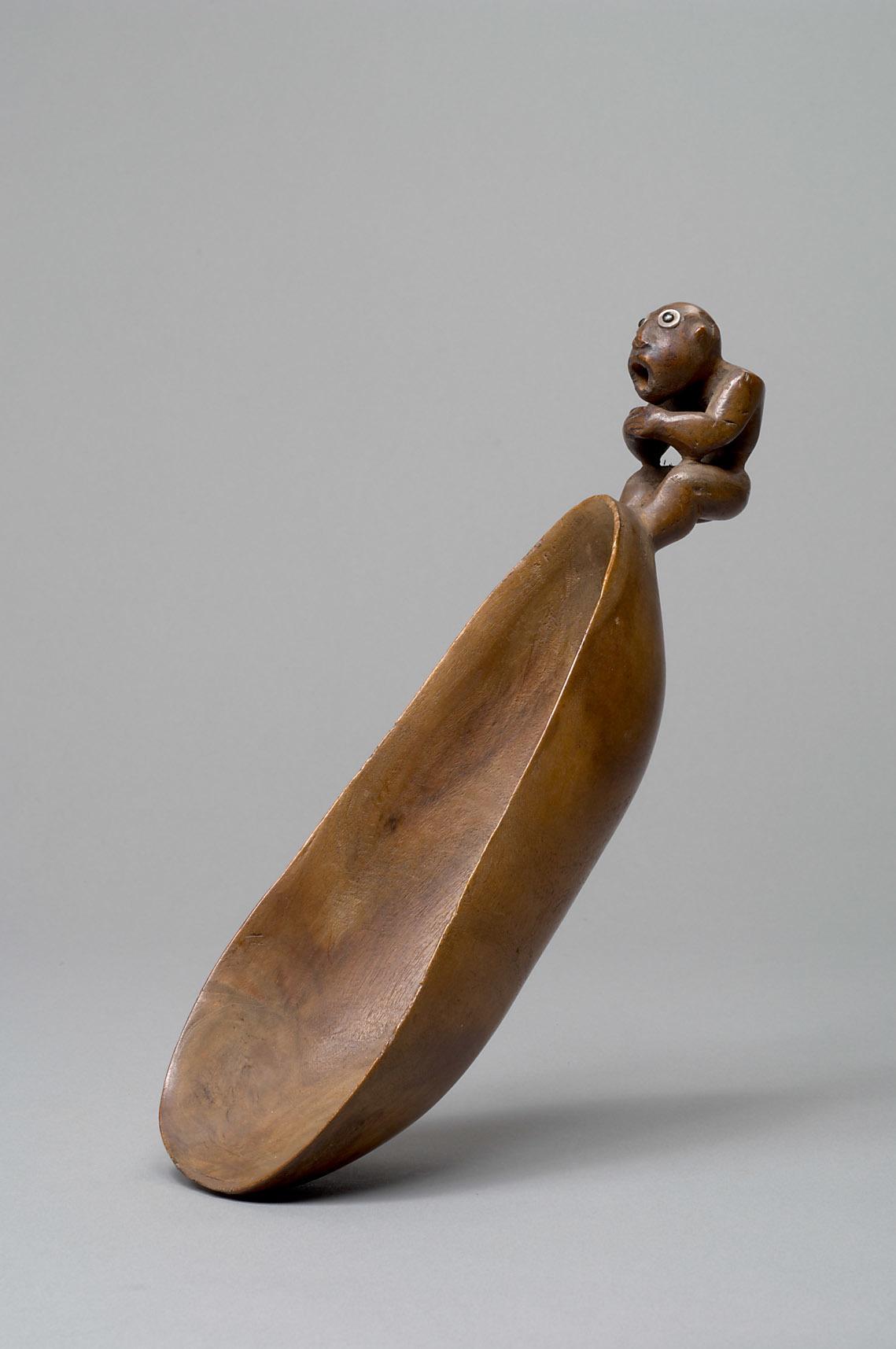 Hawaiian Ladle with Human Figure | 1778 © KHM-Museumsverband