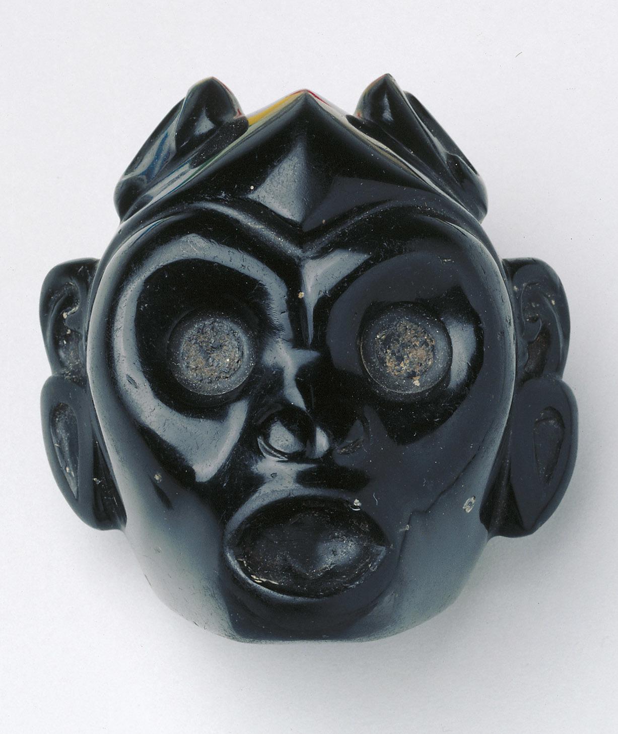 Mesoamerican Mirror Frame as Monkey's Head | Circa 1500 © KHM-Museumsverband