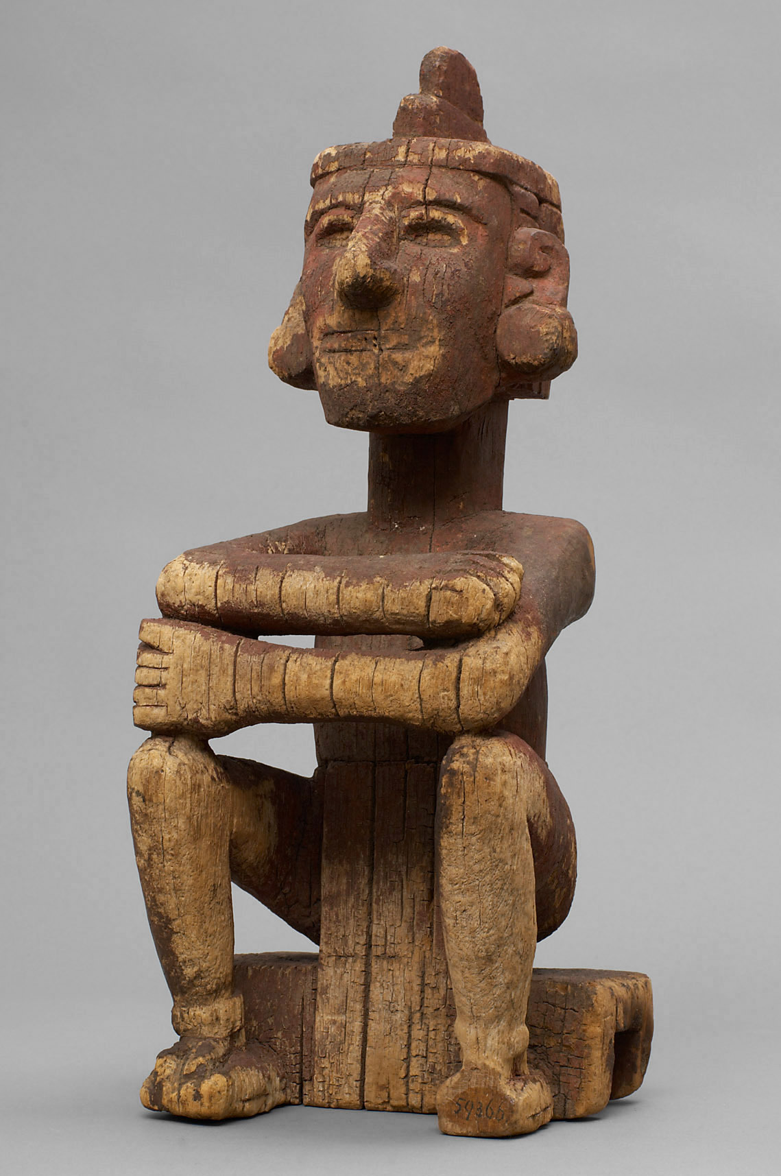 Mesoamerican God of Music, Dance, & Games |  Macuilxóchitl (5 Flowers)  | Circa 1500 © KHM-Museumsverband