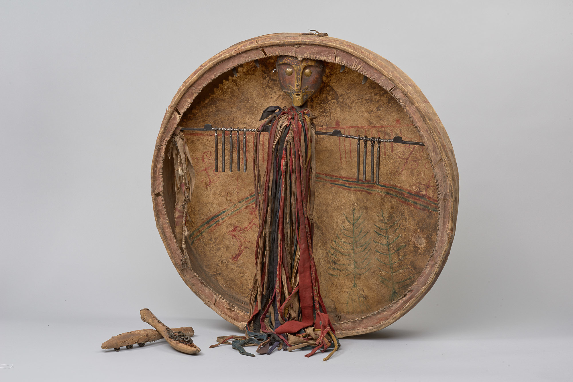 Siberian Shaman's Drum | Before 1931 © KHM-Museumsverband