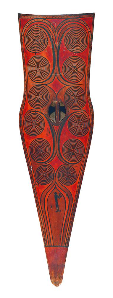 Warrior's Shield (Back)    Koraibi    Mentawai © Dallas Museum of Art   Texas, USA