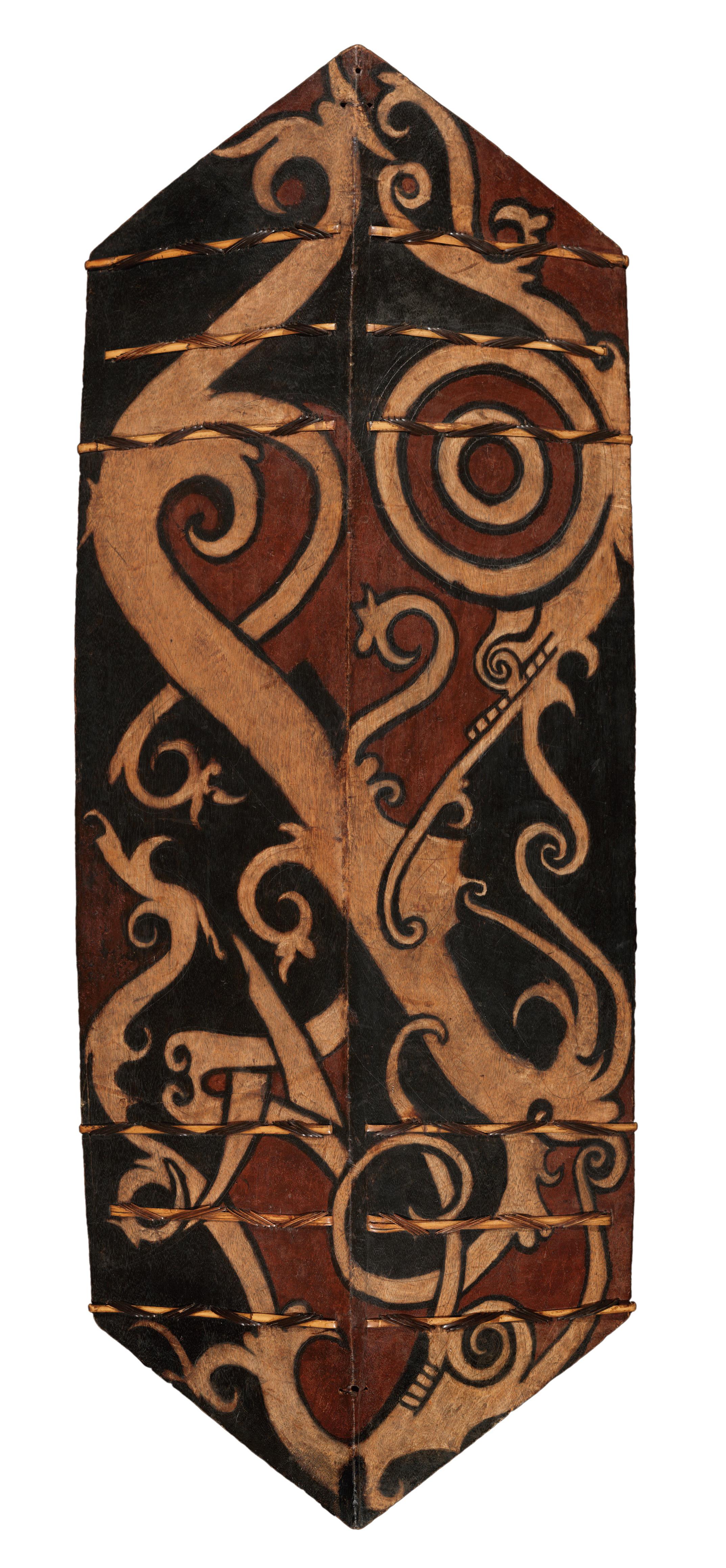 Warrior's Shield    Kelbit / Kelempit / Kliau / Talawang    Borneo © Dallas Museum of Art   Texas, USA