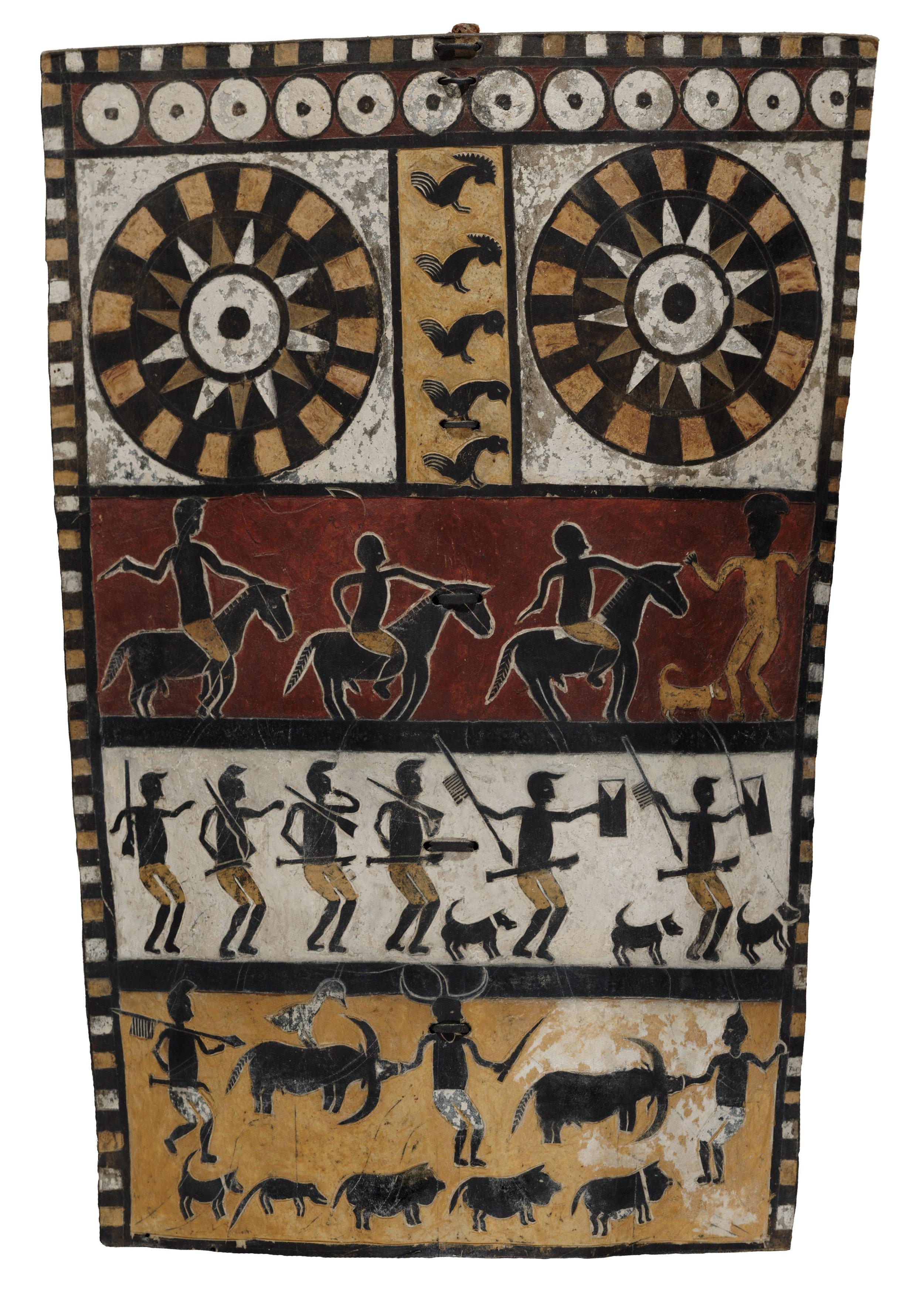 Ceremonial Funerary Shield © Dallas Museum of Art   Texas, USA