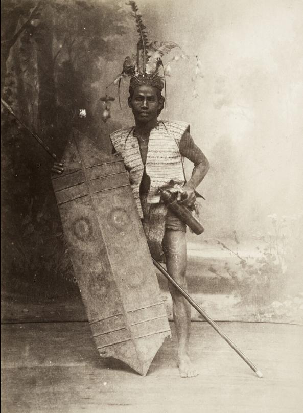 Dayak Warrior   Borneo   1880 - 1920  © Nationaal Museum van Wereldculturen   The Netherlands