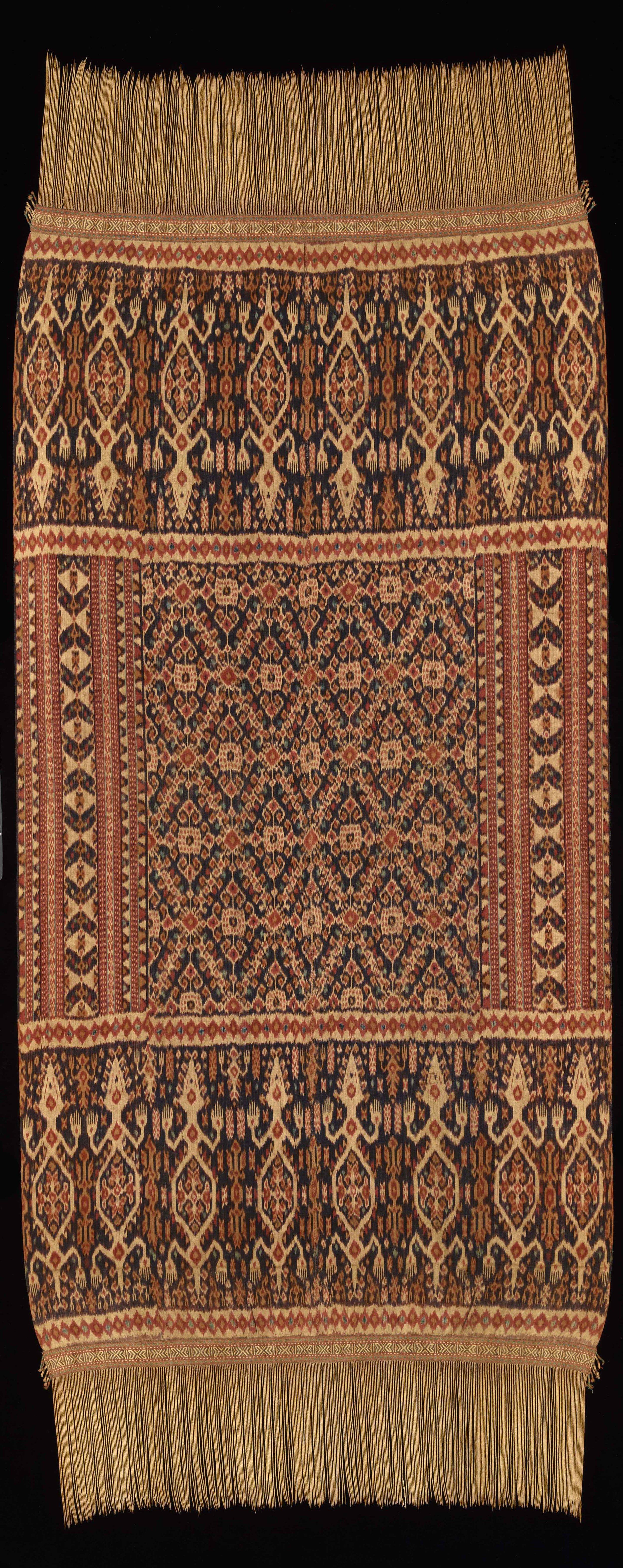 Man's Ceremonial Ikat Mantle | Hinggi © Dallas Museum of Art | Texas, USA