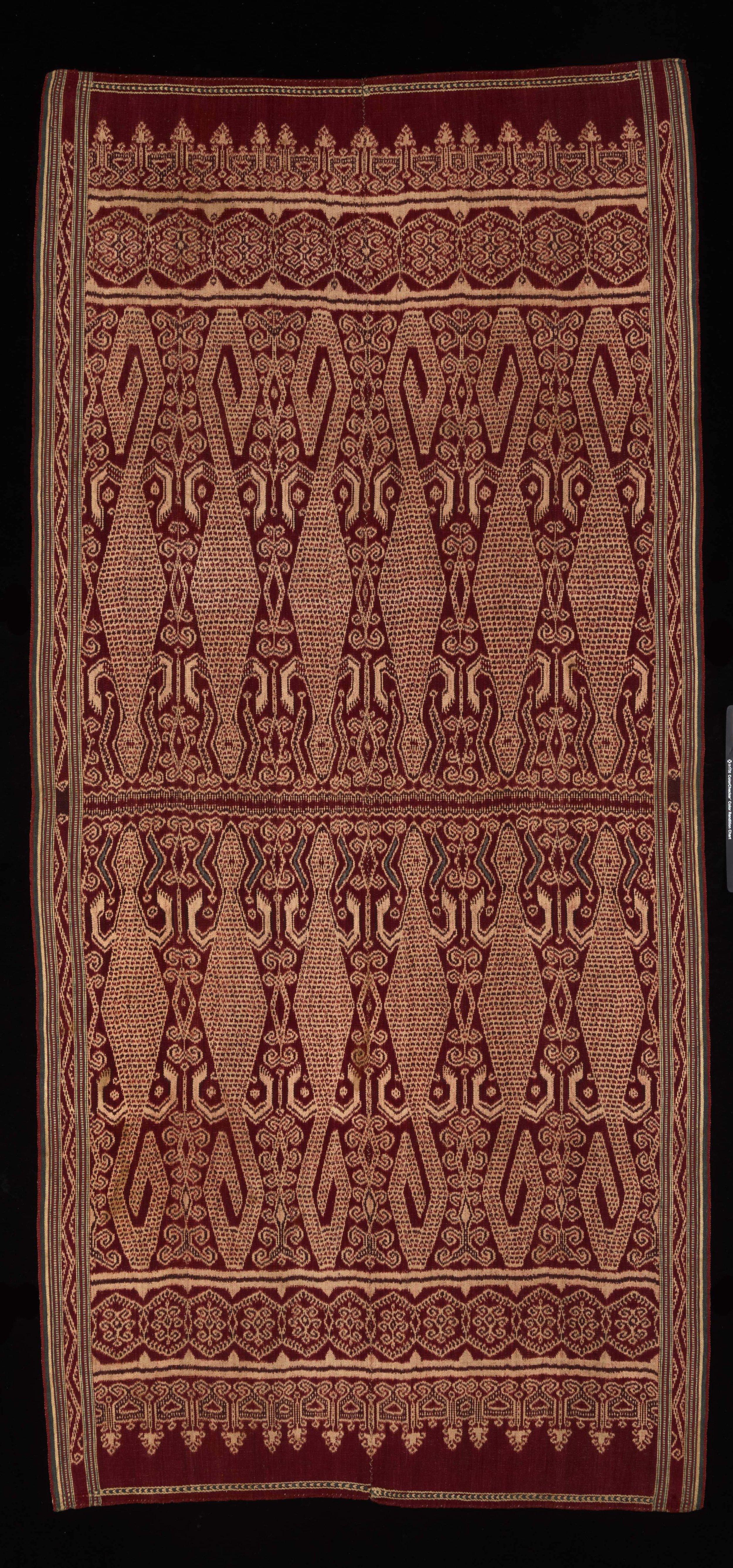 Iban Ceremonial Weaving | Pua Kumbu © Dallas Museum of Art | Texas, USA