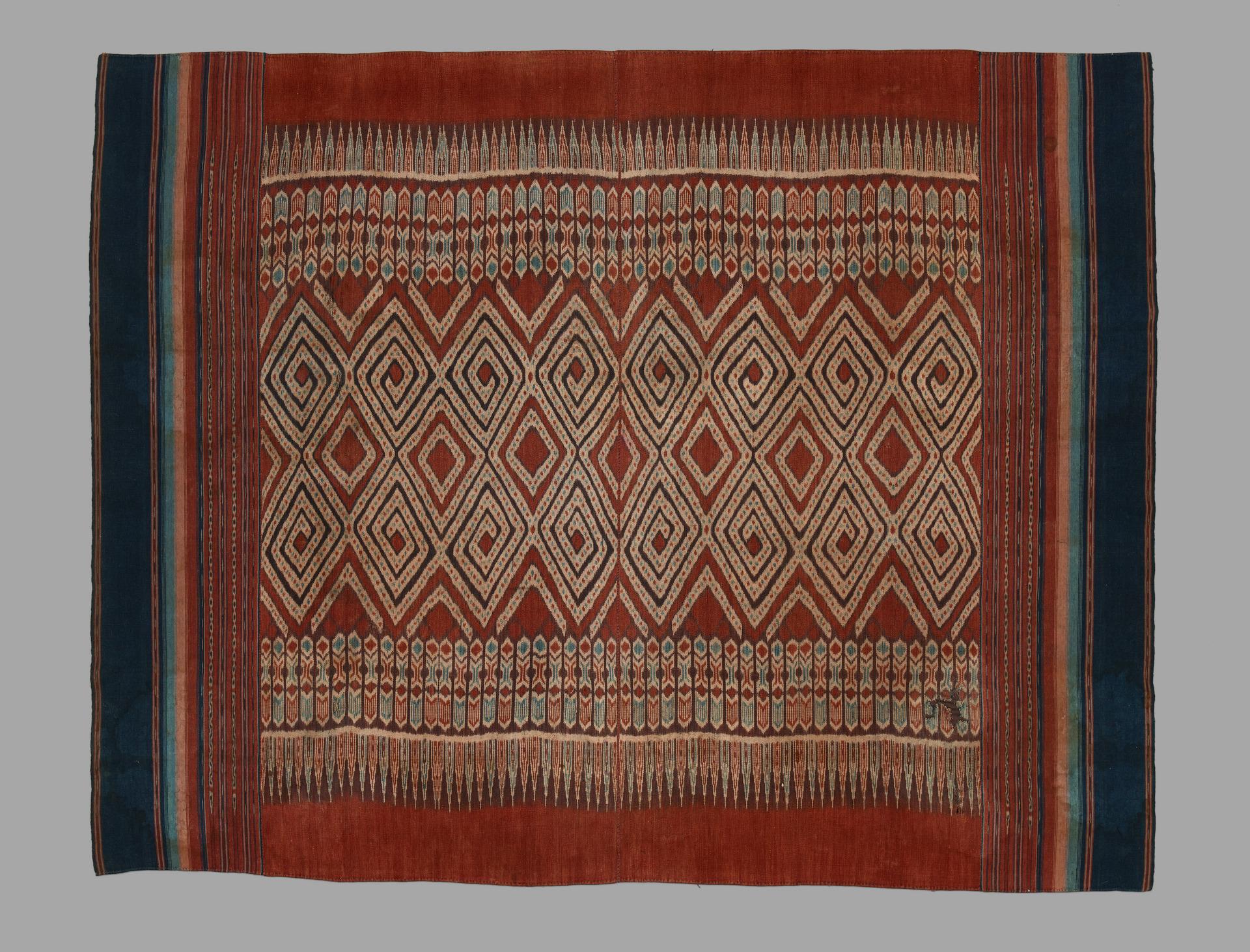 Ikat Ceremonial Hanging or Shroud | Toraja Peoples | Sulawesi © Yale University Art Gallery | Connecticut, USA