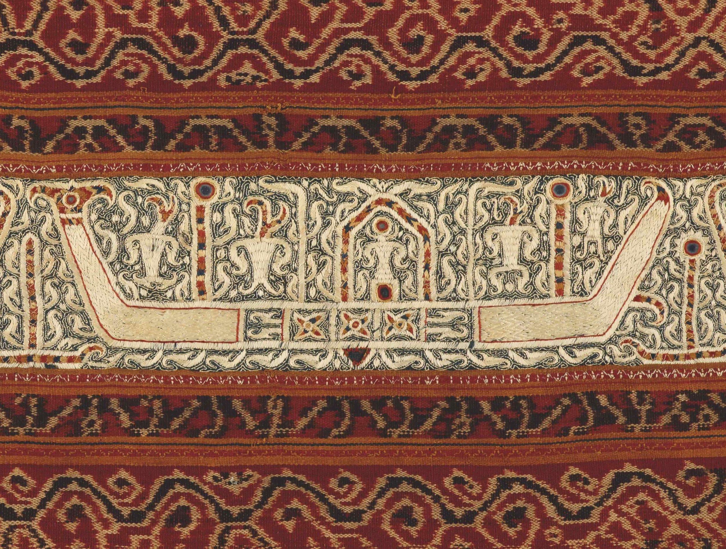 Detail of Woman's Ceremonial Skirt |  Tapis  © Dallas Museum of Art | Texas, USA