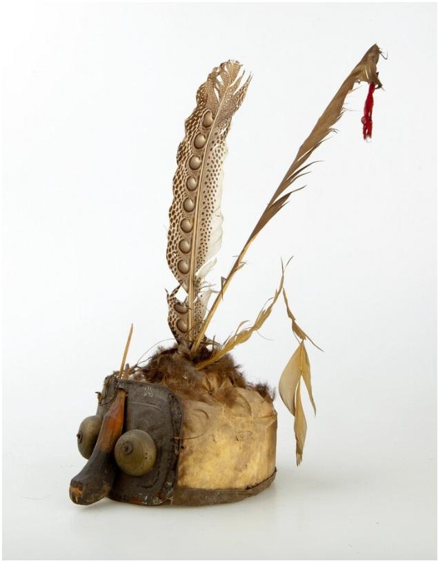 Kutai Kertanegara Warrior's Headdress © Nationaal Museum van Wereldculturen | The Netherlands