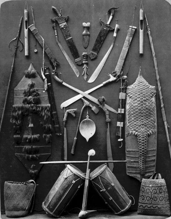Collection of Dayak Objects in Indonesia | 1870-1900 © Nationaal Museum van Wereldculturen | The Netherlands