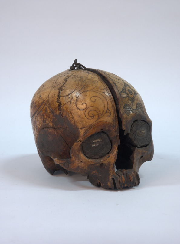 Incised Trophy Skull © Nationaal Museum van Wereldculturen | The Netherlands