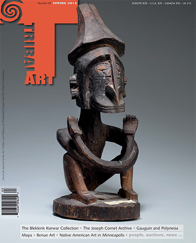 Tribal Art Magazine Issue #63 Spring 2012