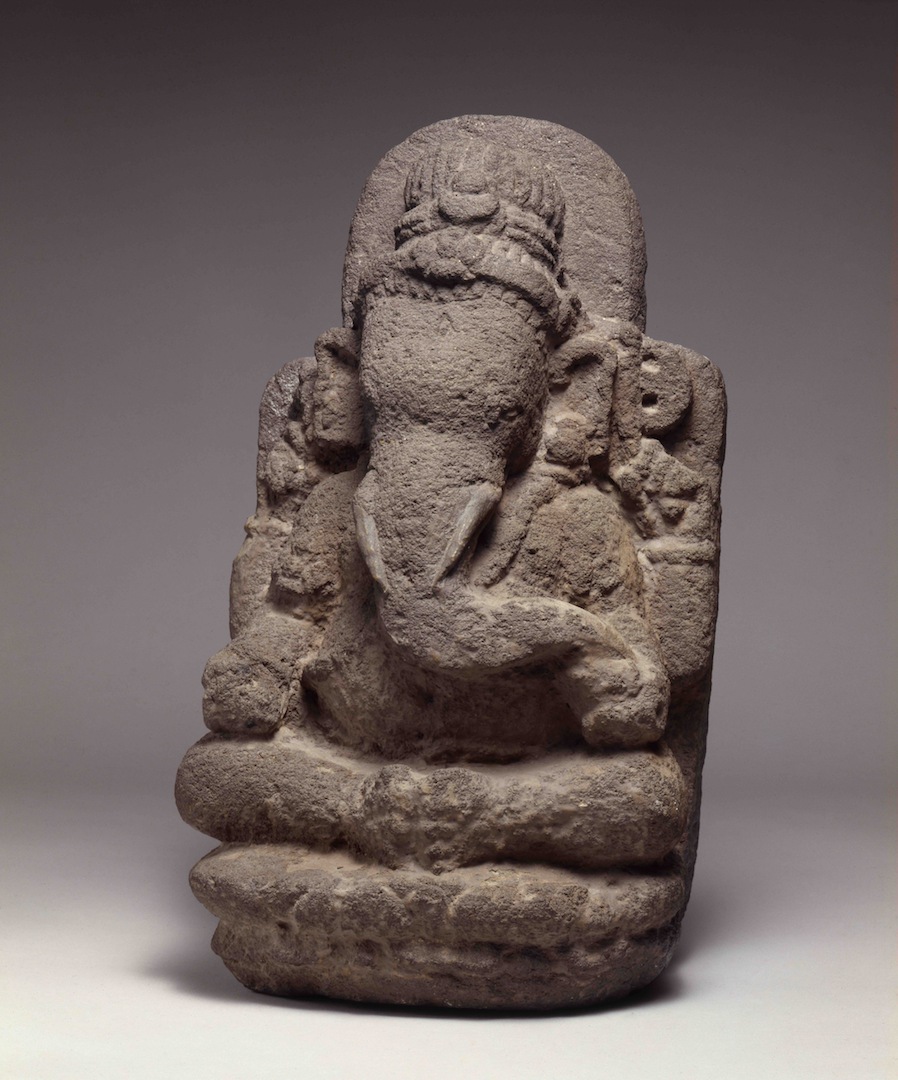Stone Seated Ganesha | Central Java © Asian Art Museum of San Francisco