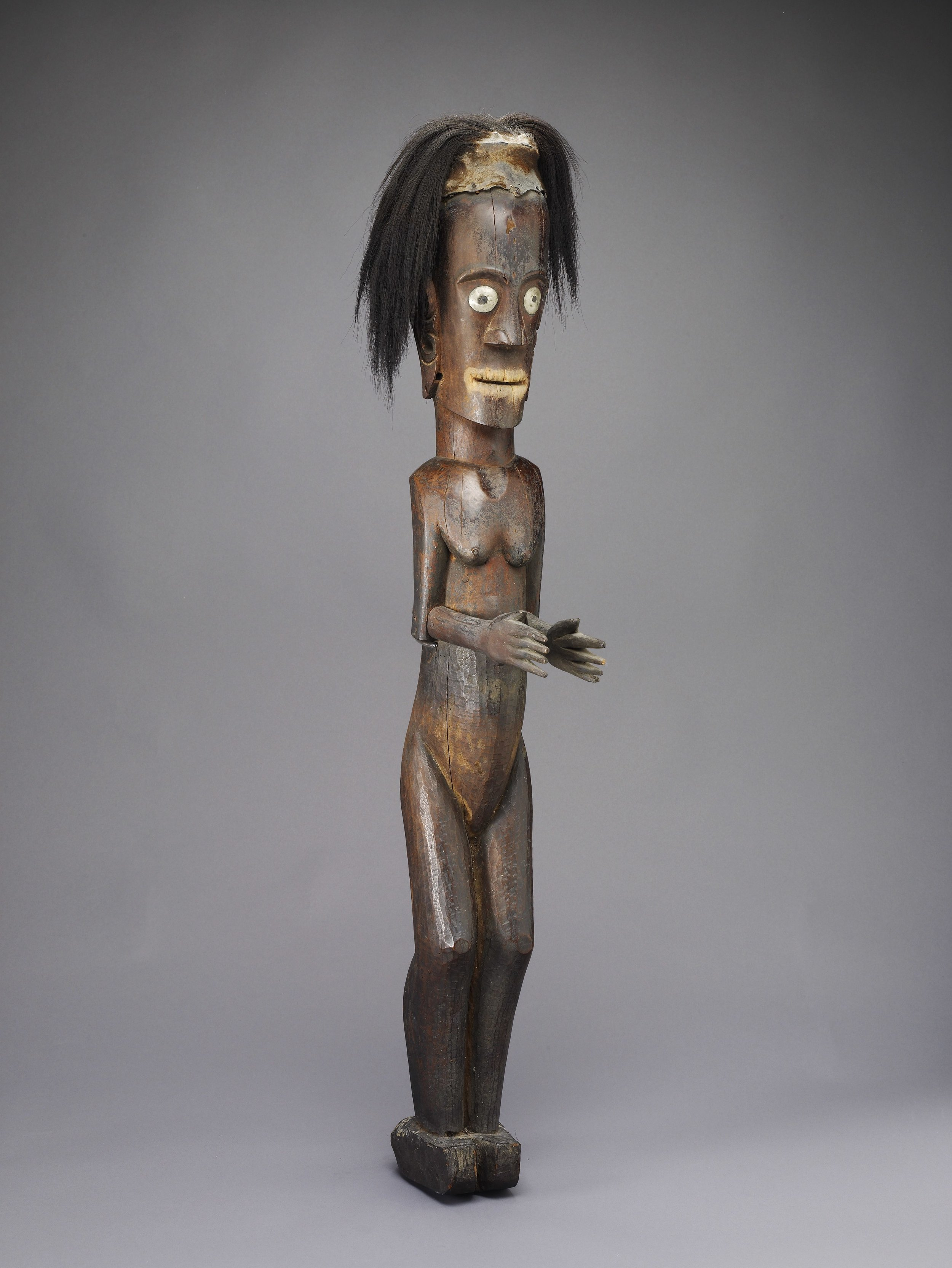 Batak Protective Statue |  Pagar  | North Sumatra © de Young | Fine Arts Museums of San Francisco