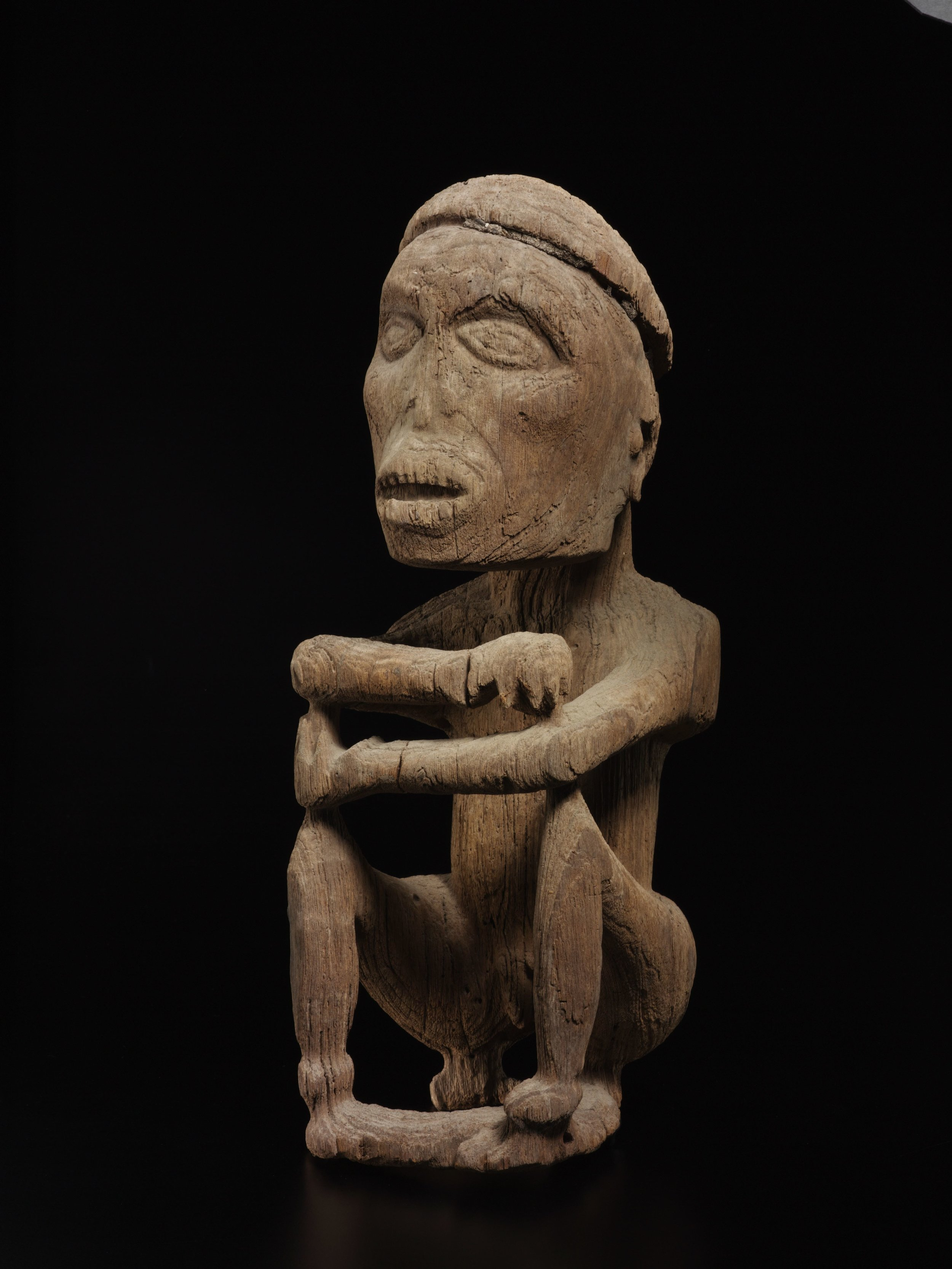 Seated Male Ancestor Figure |  Korwar  | West Papua © de Young | Fine Arts Museums of San Francisco
