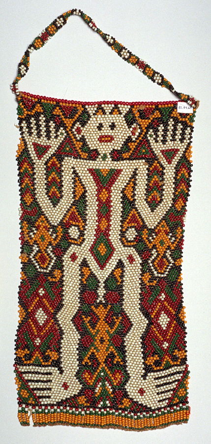 Beaded Headpiece |  Katipa  | East Sumba © de Young | Fine Arts Museums of San Francisco