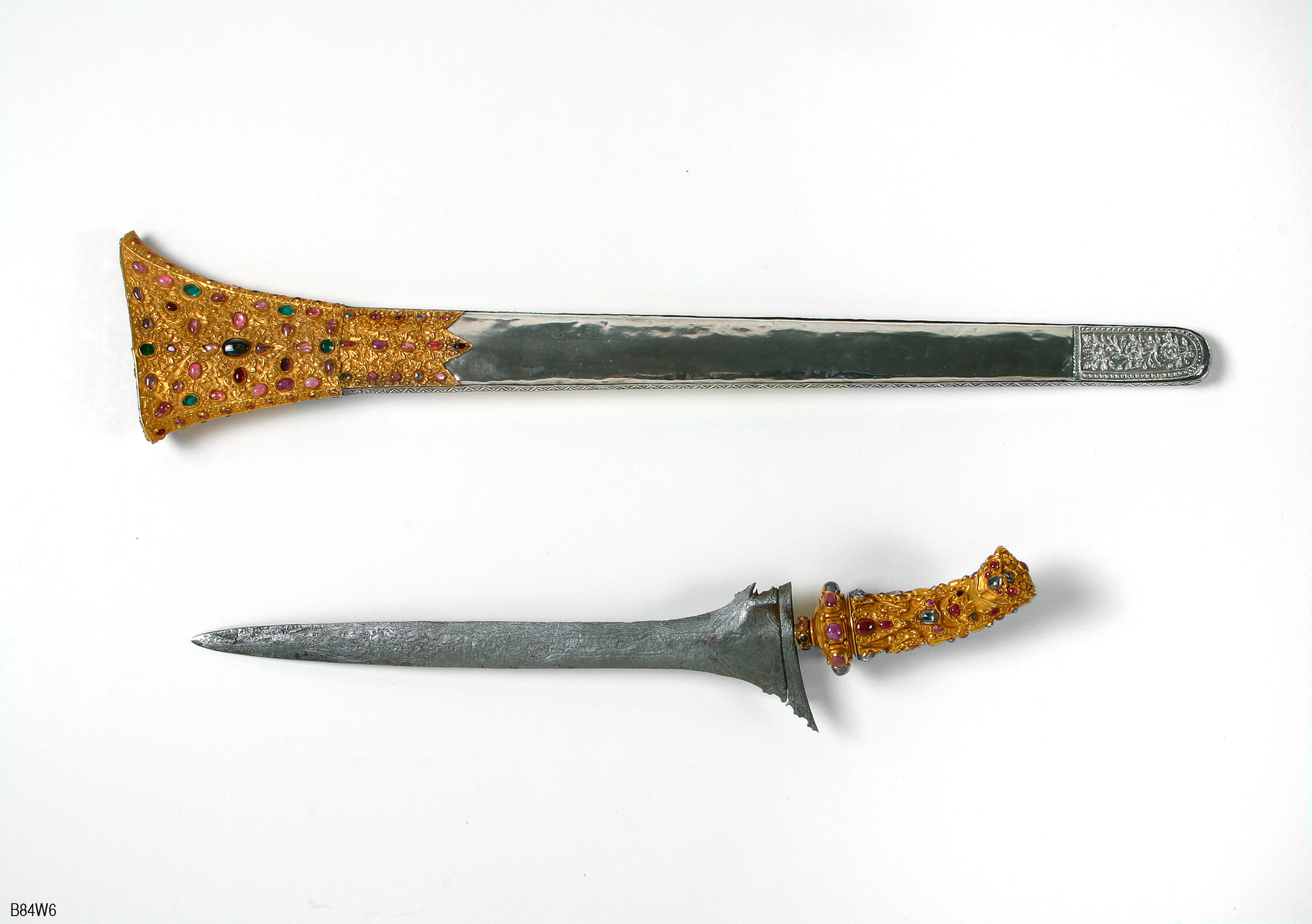 Jeweled Dagger |  Kris  | Bali © Asian Art Museum of San Francisco