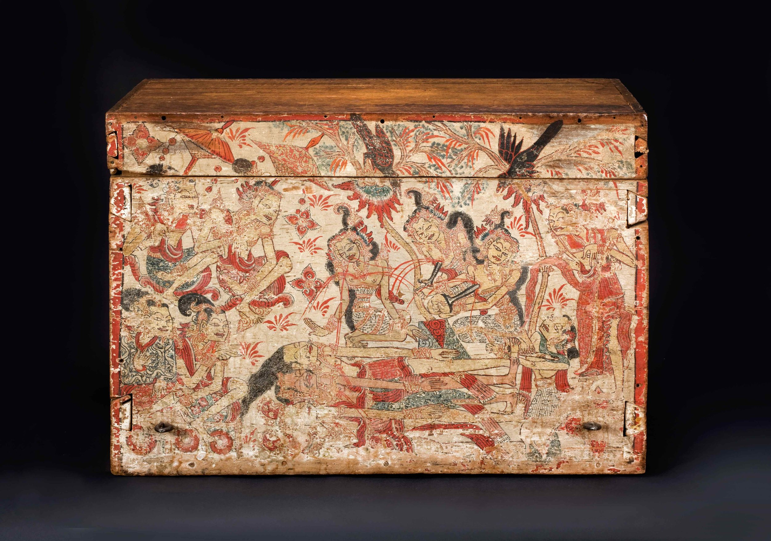Painted Royal Storage Chest | Southern Bali © Asian Art Museum of San Francisco