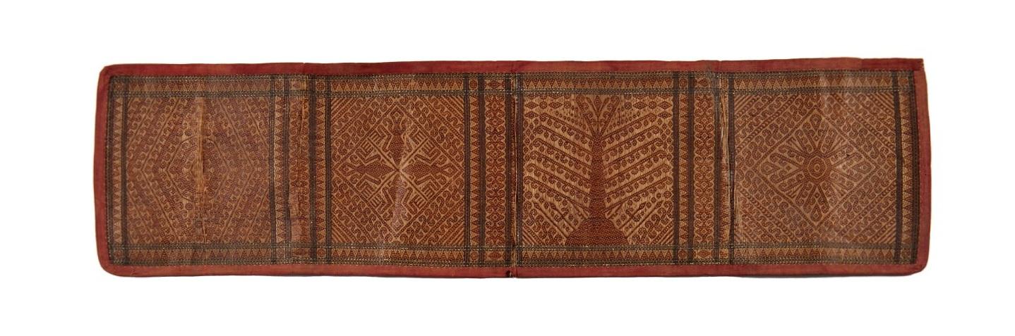 Ceremonial Plaited Mat | Kahayan River Before 1870 © Nationaal Museum van Wereldculturen | The Netherlands