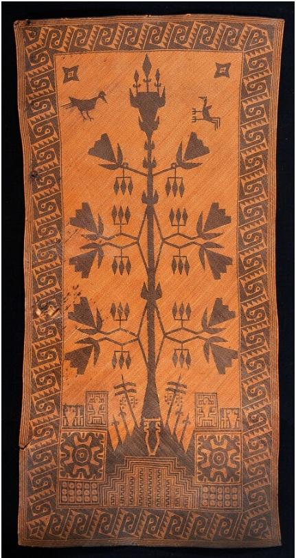 Ceremonial Plaited Mat | Before 1949 © Nationaal Museum van Wereldculturen | The Netherlands