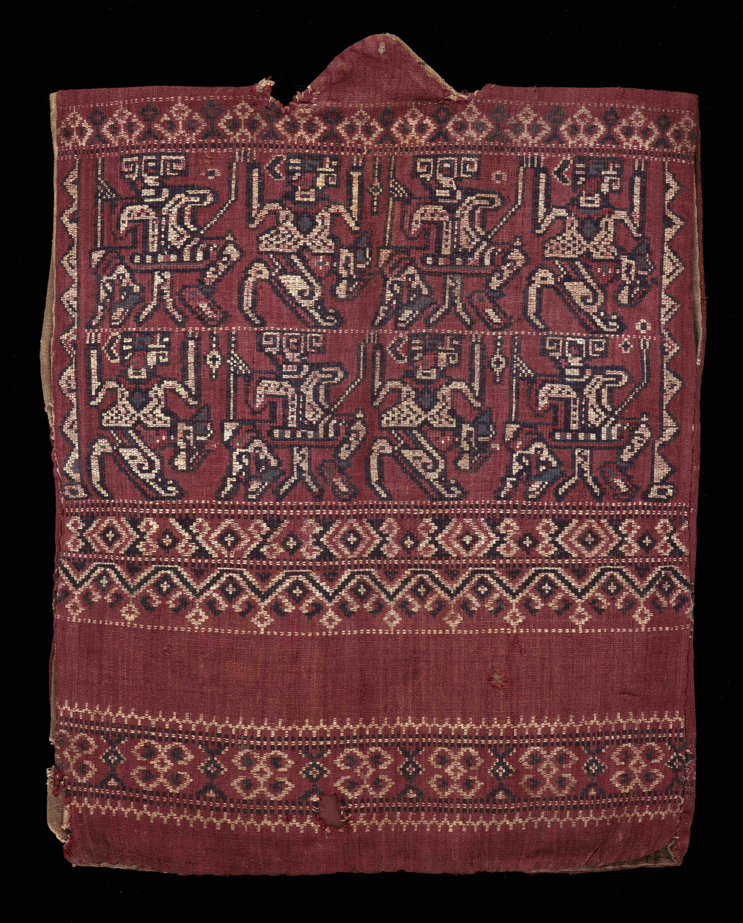 Back of Warrior's Jacket Fashioned in Sungkit | Borneo © Dallas Museum of Art | Texas, USA
