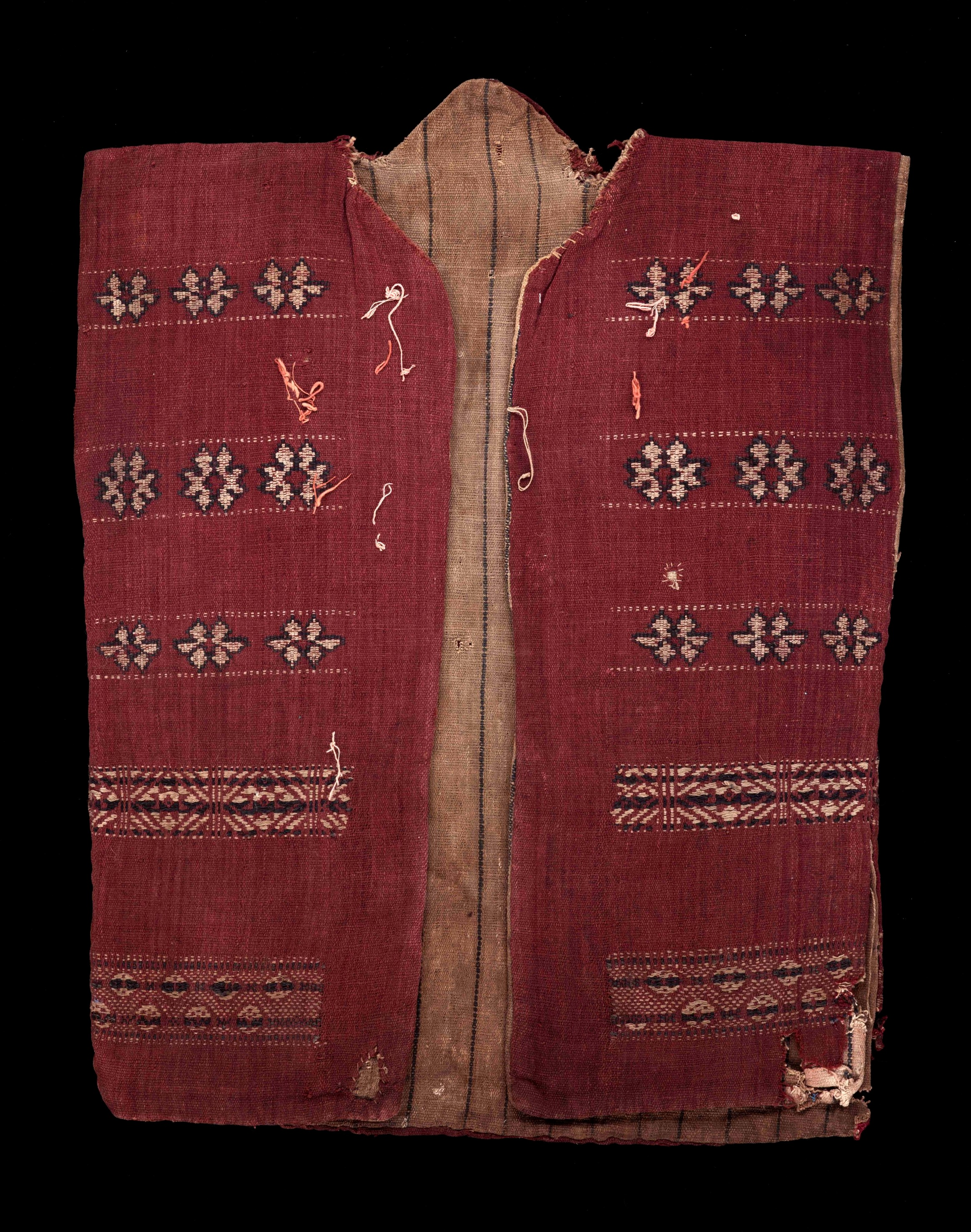 Front of Warrior's Jacket Fashioned in Sungkit | Borneo © Dallas Museum of Art | Texas, USA