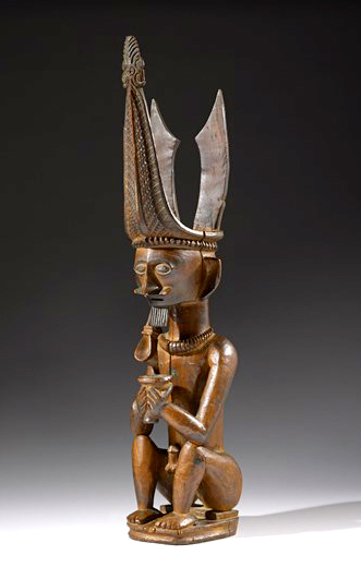 Seated Male Ancestor Figure | Adu Sihara Salawa © Museum of Fine Arts, Houston | Texas, USA