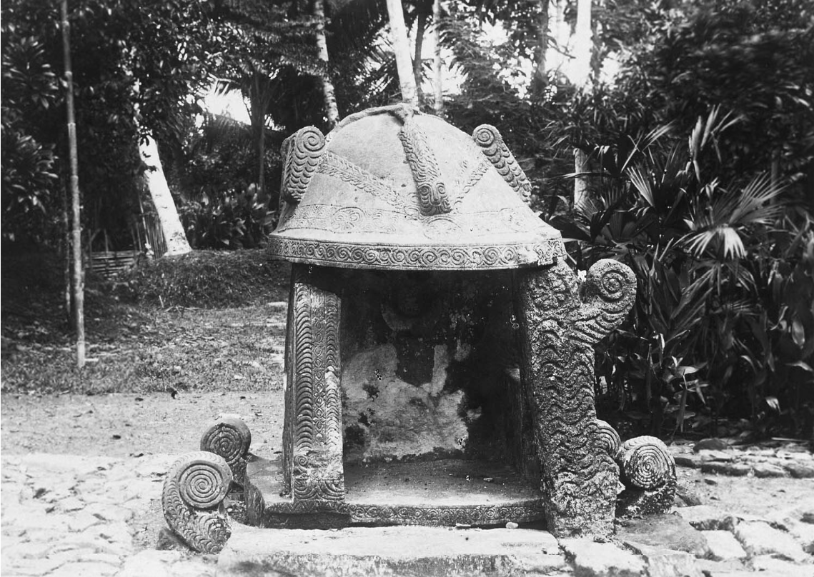 Offering Place | Hilisimaetano | South Nias | 1900-1925 © Nationaal Museum van Wereldculturen | The Netherlands