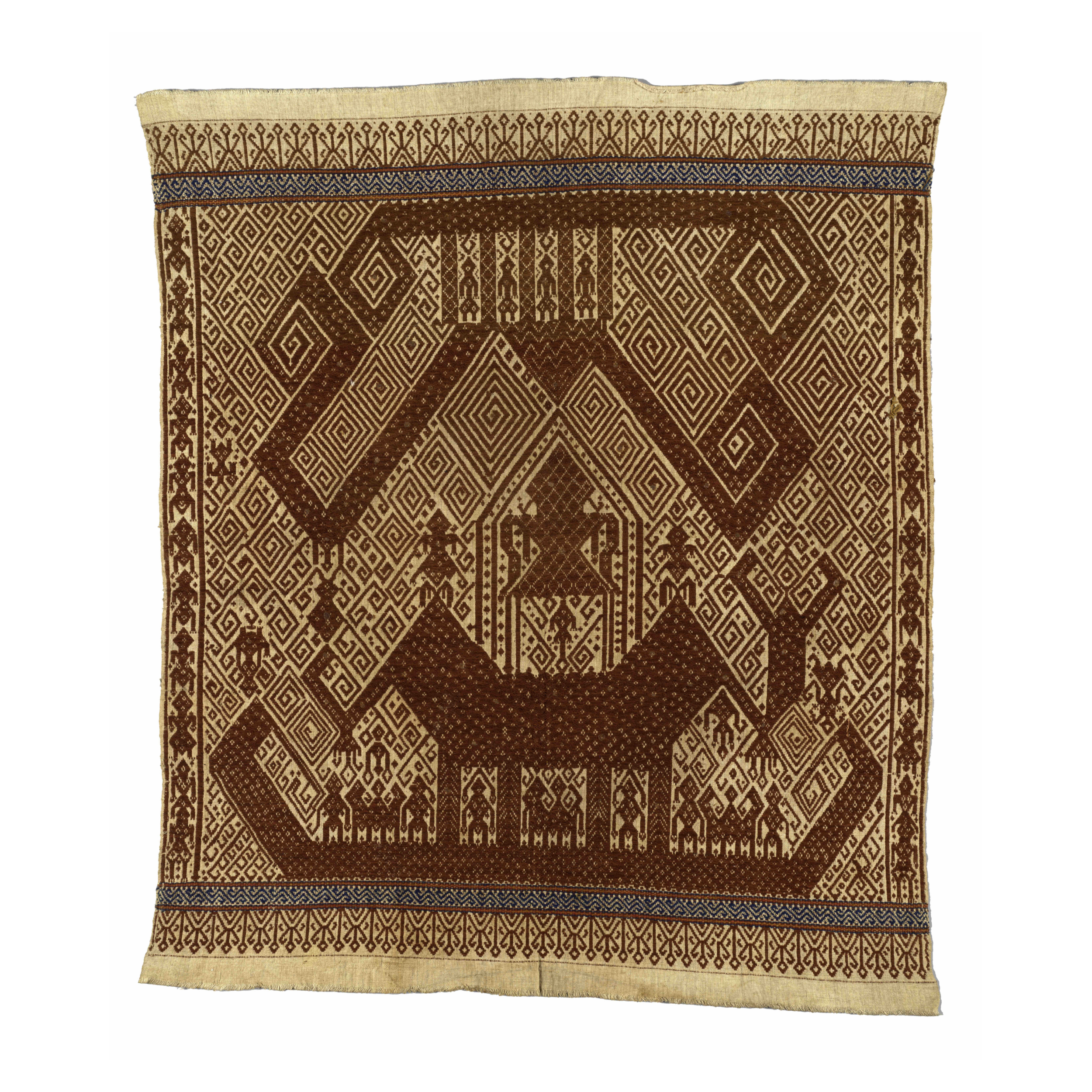 Tampan    Ceremonial Textile   Lampung, South Sumatra   Gift of Ernest Erickson Foundation   1988.104.28 © The Metropolitan Museum of Art   New York, USA