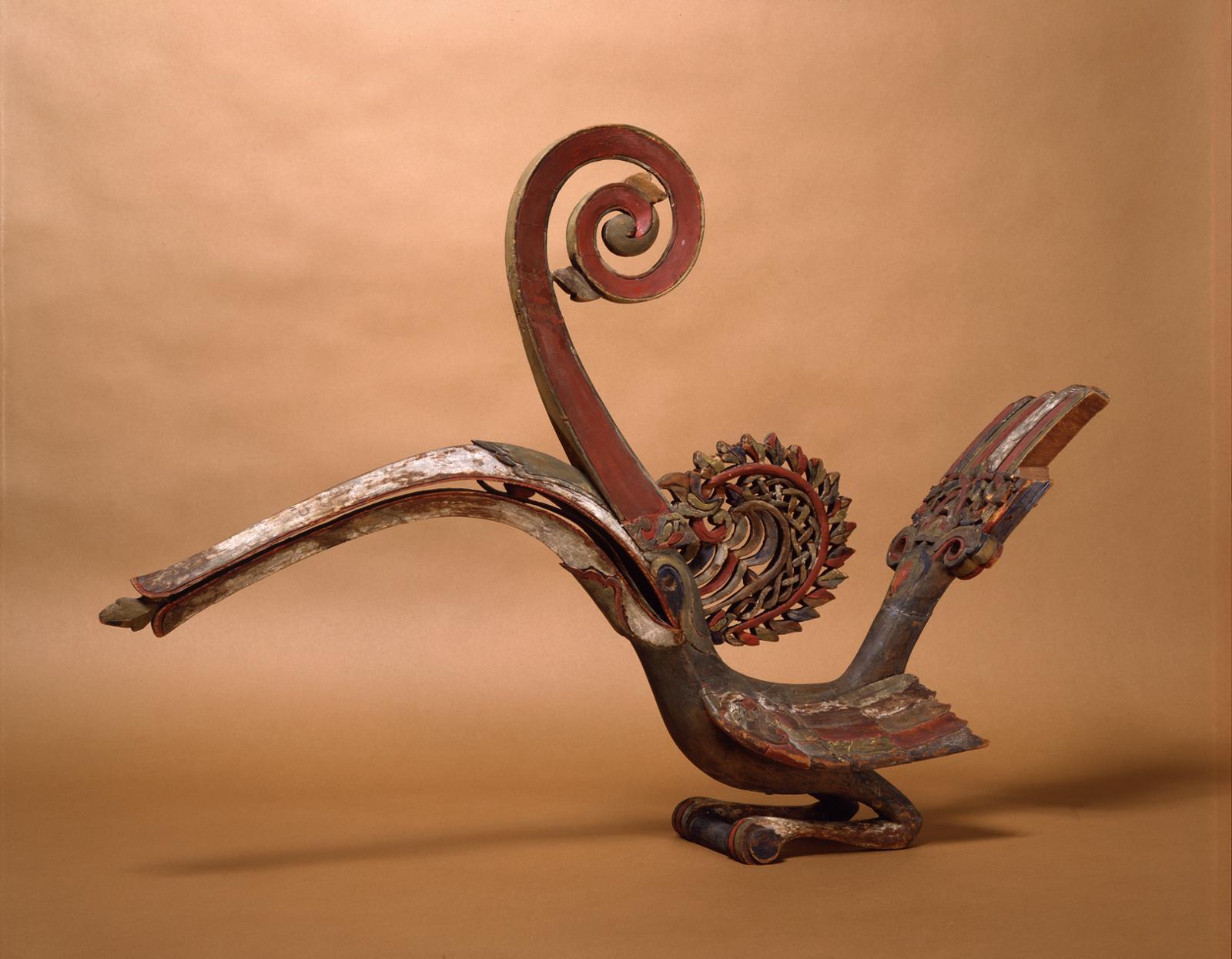 Hornbill Figure   Kenyalang   Gift of Dr. William H. Furness 3rd, 1898   Object #: P815B   Penn Museum