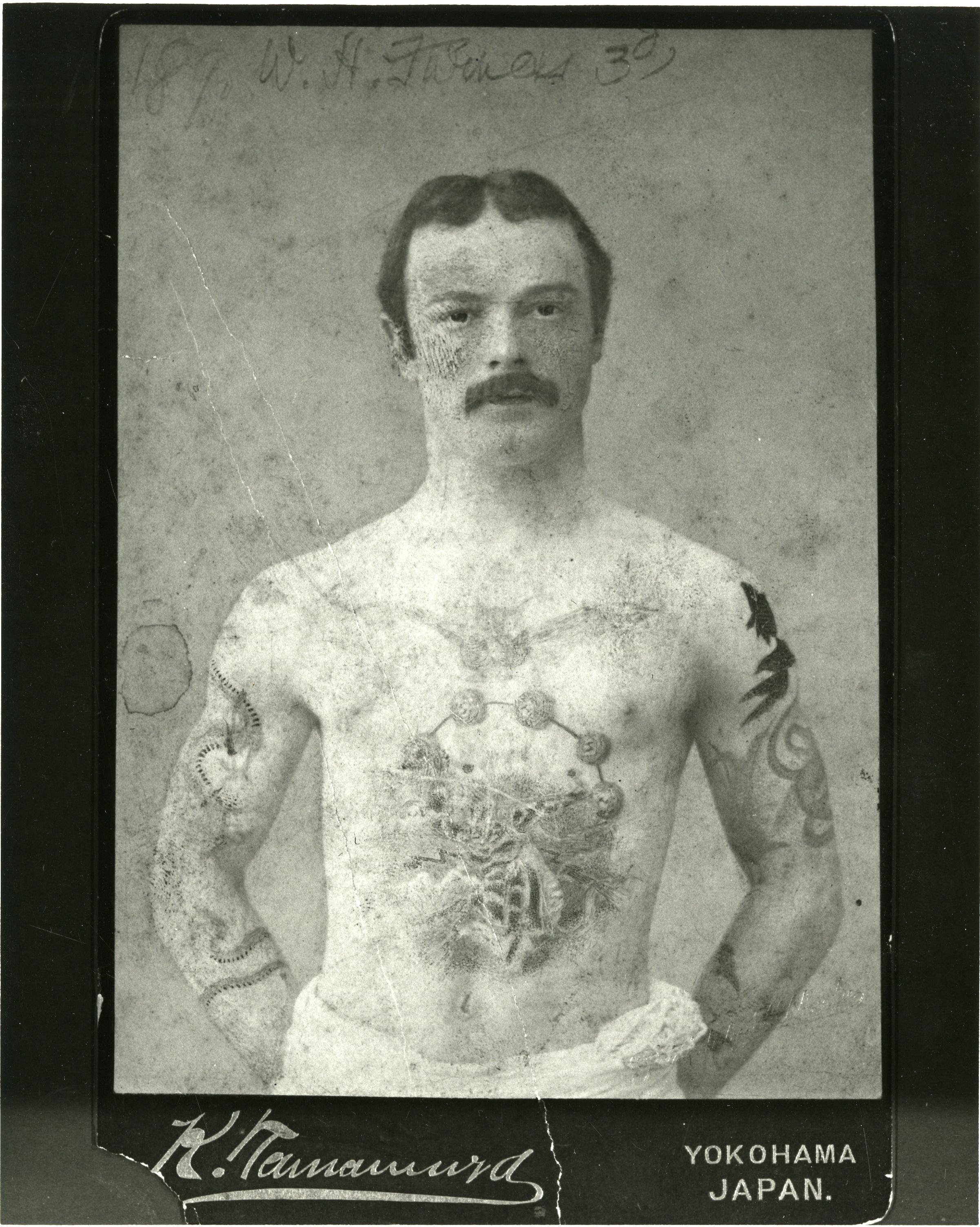 Dr. William H. Furness 3rd in Yokohama, Japan 1890's.